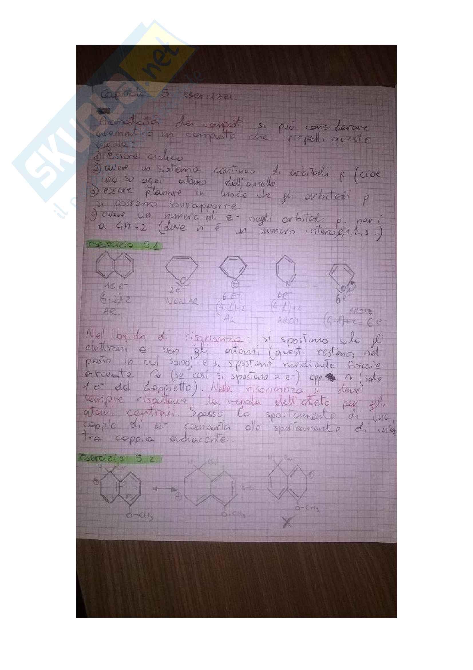 Esercizi di chimica organica del Catelani