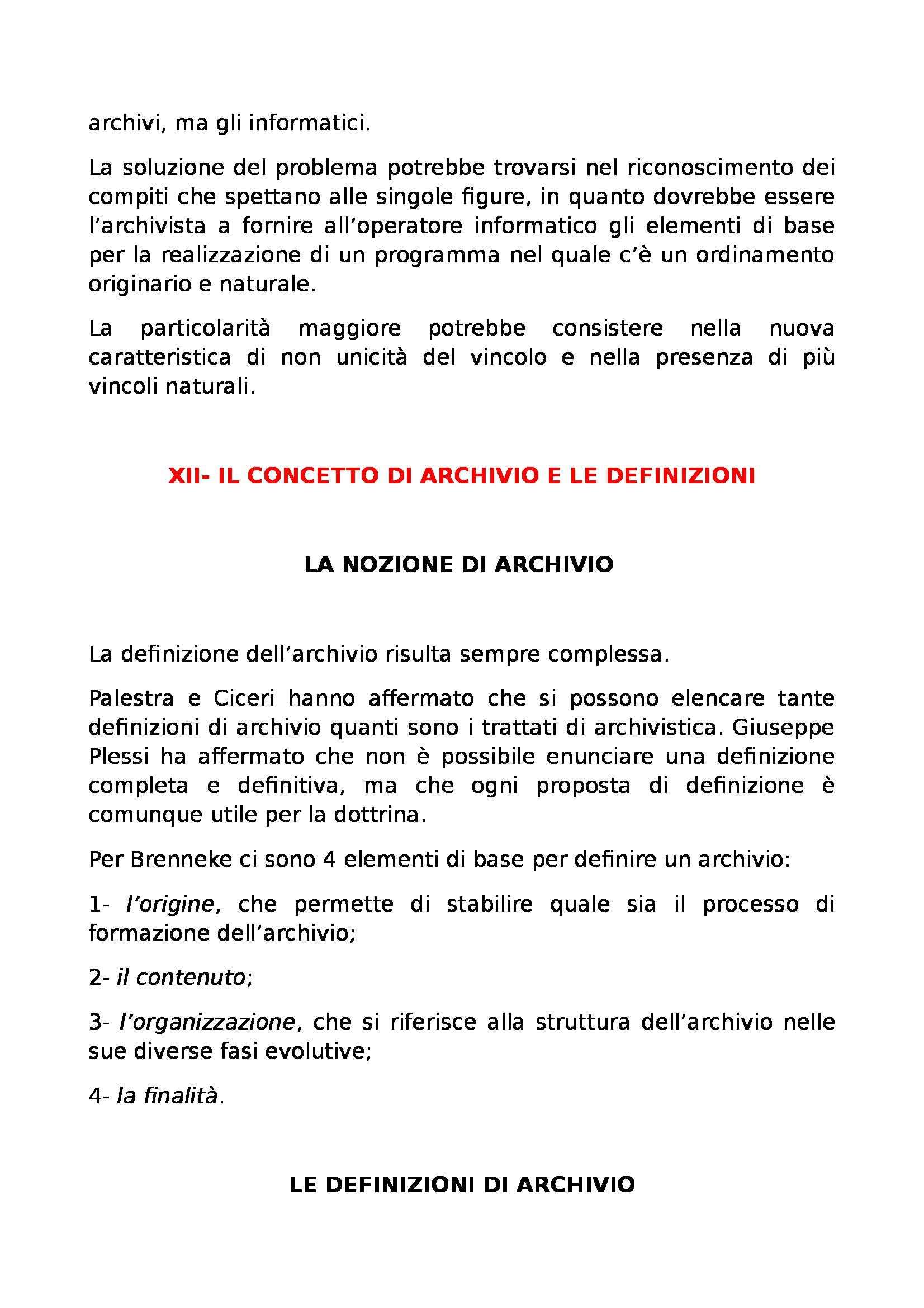 Riassunto esame Archivistica, prof. Giambastiani, libro consigliato Archivistica generale, Romiti Pag. 41