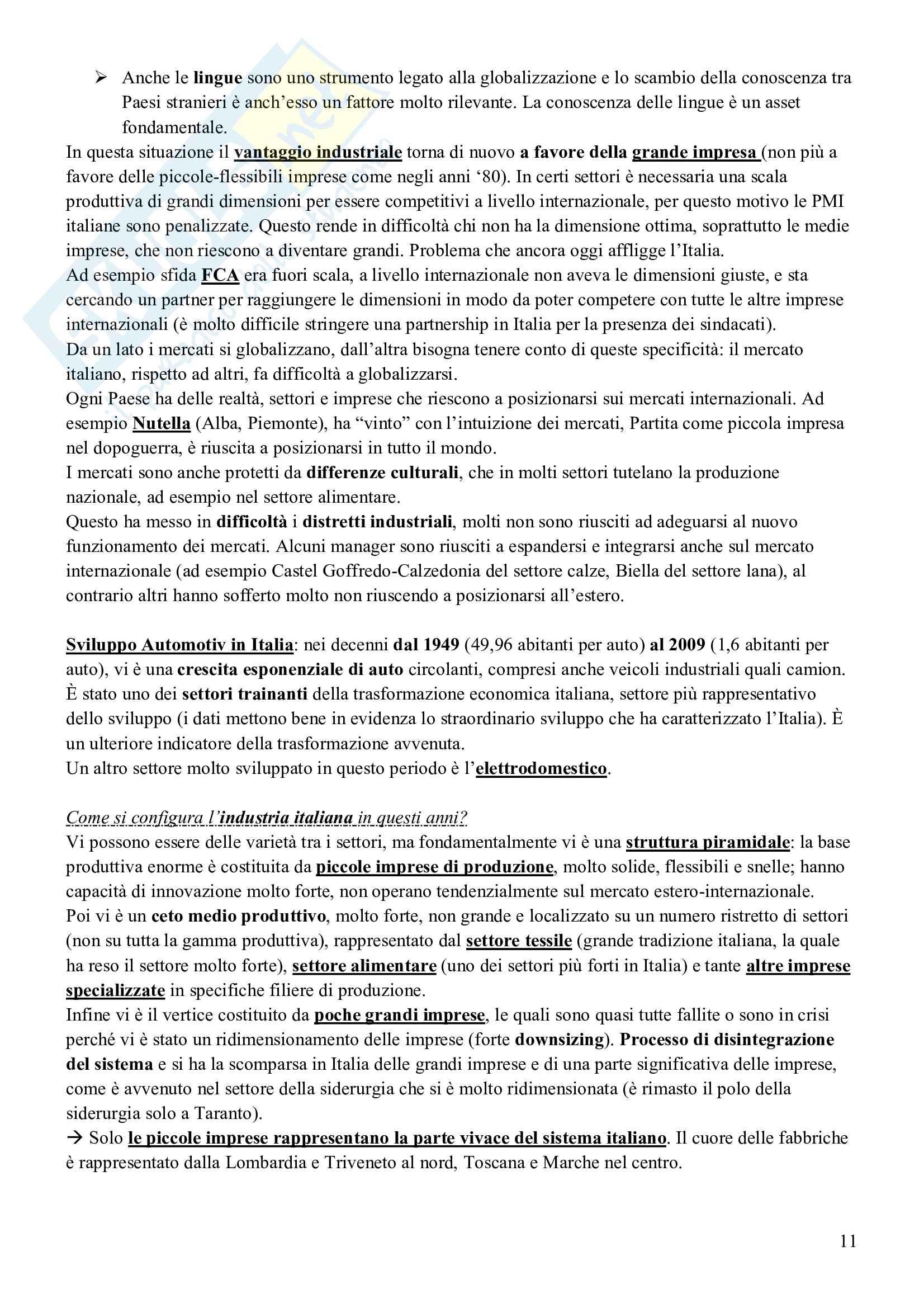 Esame Economia delle Forme di Mercato (Economia Industriale II) Pag. 11