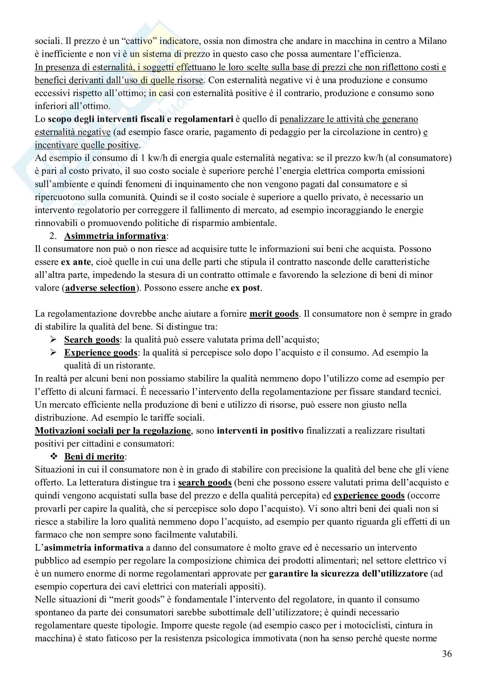 Esame Economia delle Forme di Mercato (Economia Industriale II) Pag. 36