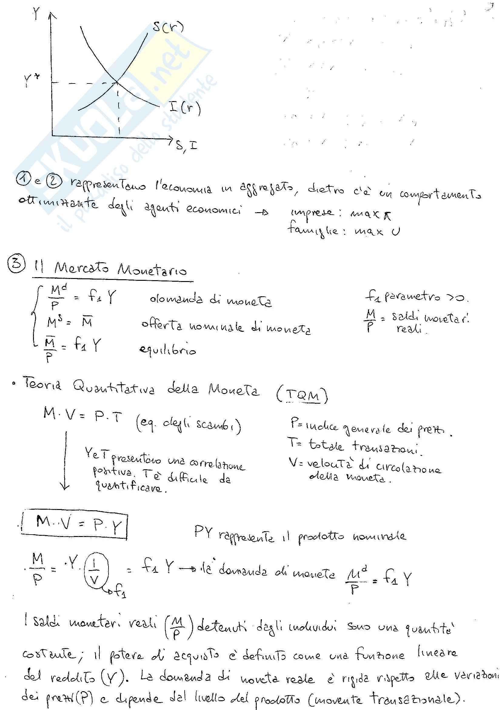 Lezioni, Macroeconomia Pag. 16