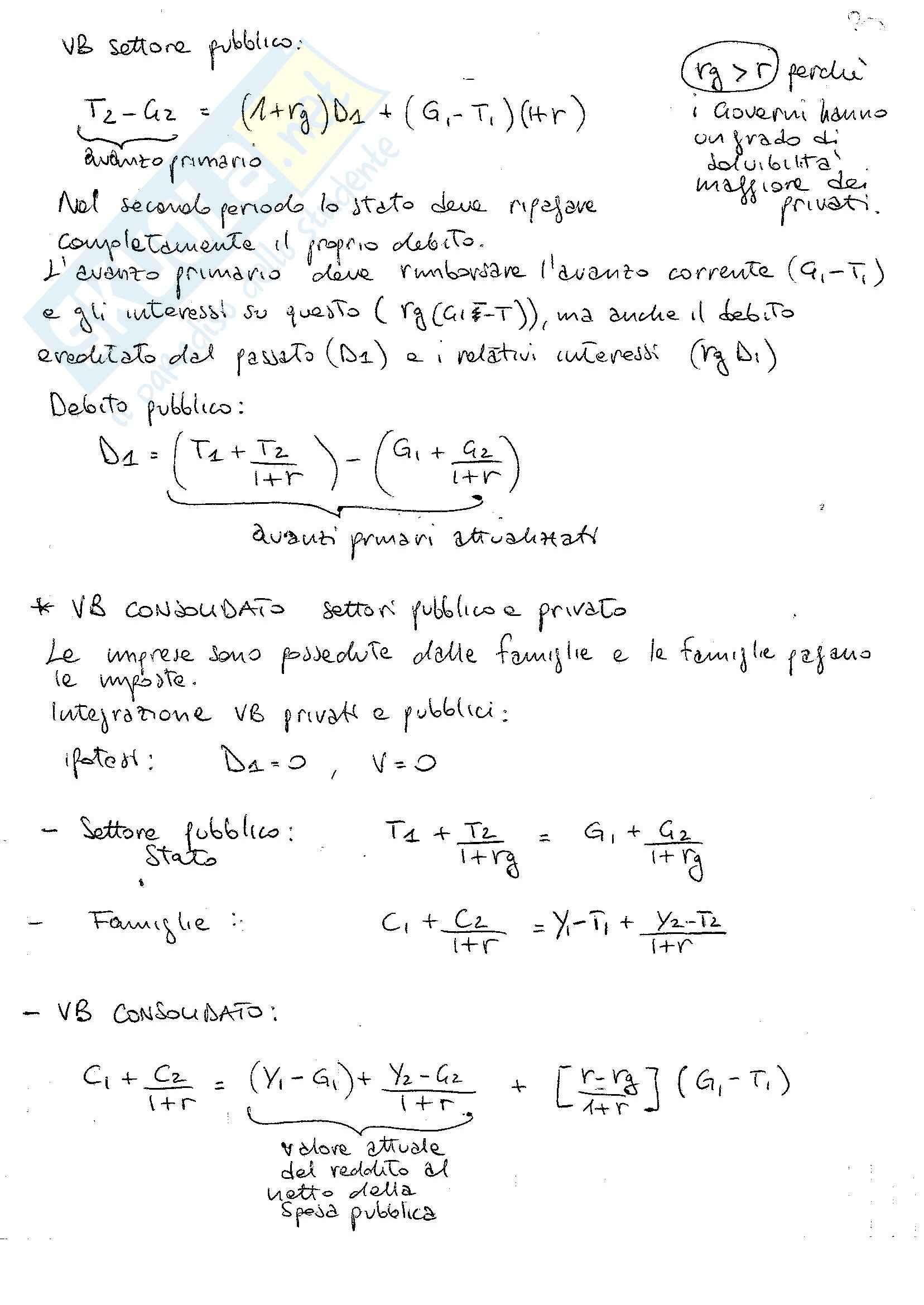 Lezioni, Macroeconomia Pag. 36