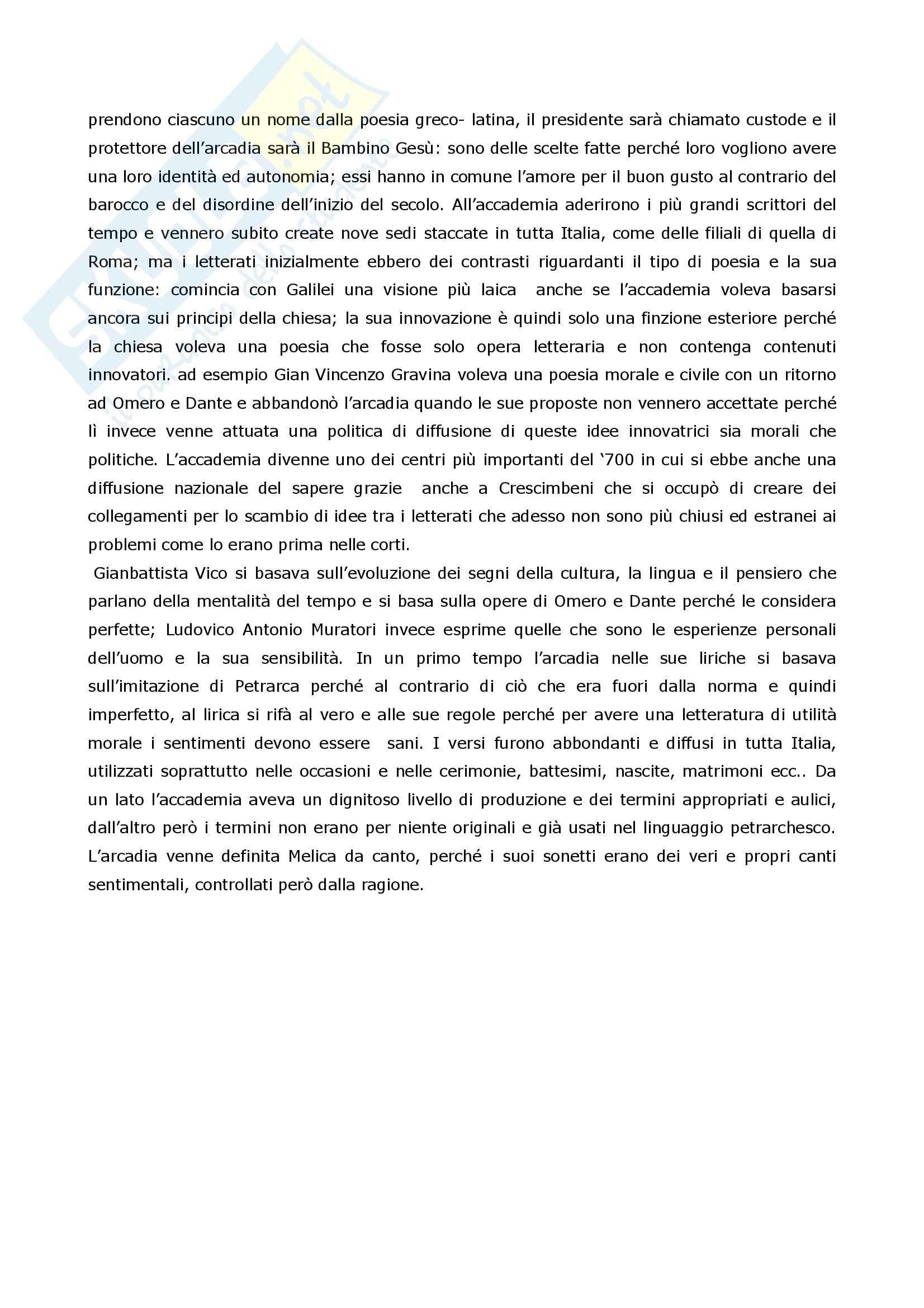 Riassunto esame Letteratura Italiana, prof. Coluccia, libro consigliato La scrittura e l'interpretazione, Luperini, Castaldi, Marchiani Pag. 2