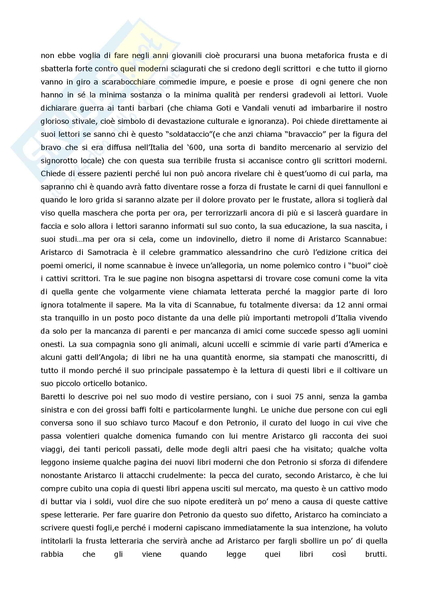 Riassunto esame Letteratura Italiana, prof. Coluccia, libro consigliato La scrittura e l'interpretazione, Luperini, Castaldi, Marchiani Pag. 21