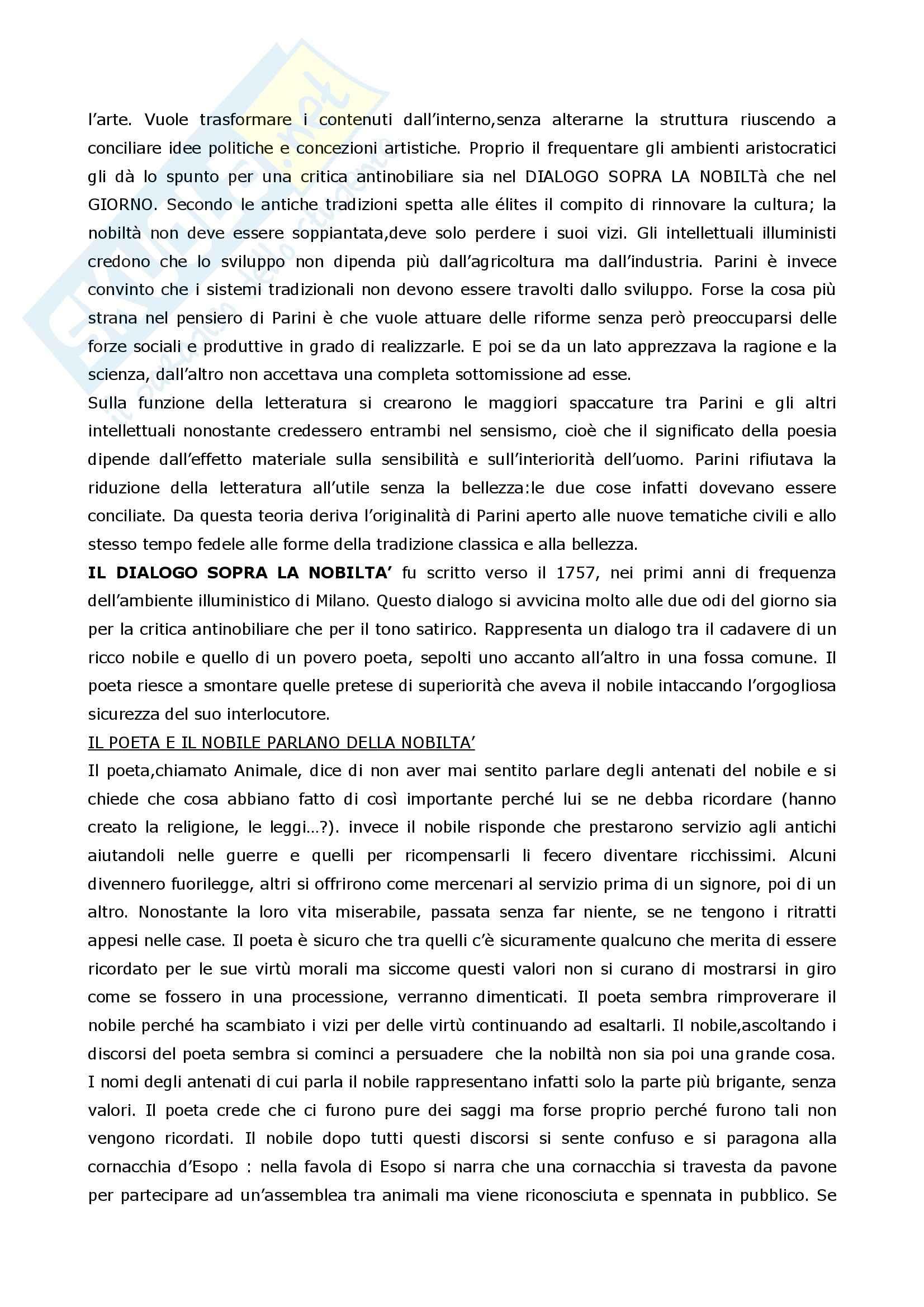 Riassunto esame Letteratura Italiana, prof. Coluccia, libro consigliato La scrittura e l'interpretazione, Luperini, Castaldi, Marchiani Pag. 31