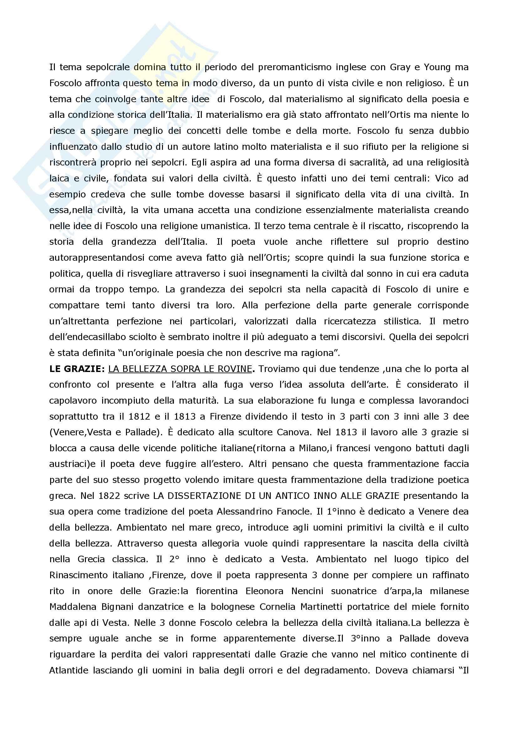 Riassunto esame Letteratura Italiana, prof. Coluccia, libro consigliato La scrittura e l'interpretazione, Luperini, Castaldi, Marchiani Pag. 41