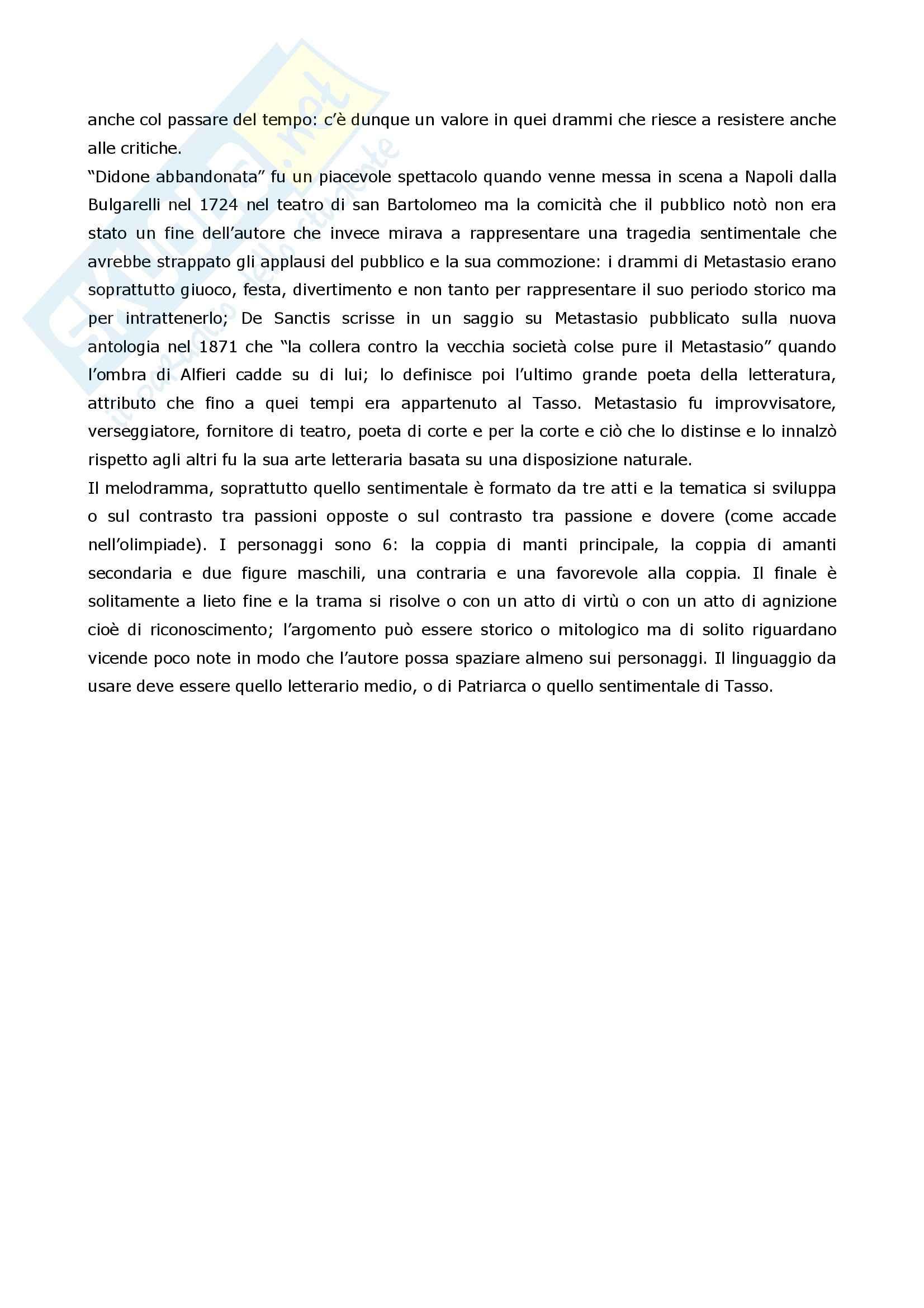 Riassunto esame Letteratura Italiana, prof. Coluccia, libro consigliato La scrittura e l'interpretazione, Luperini, Castaldi, Marchiani Pag. 6