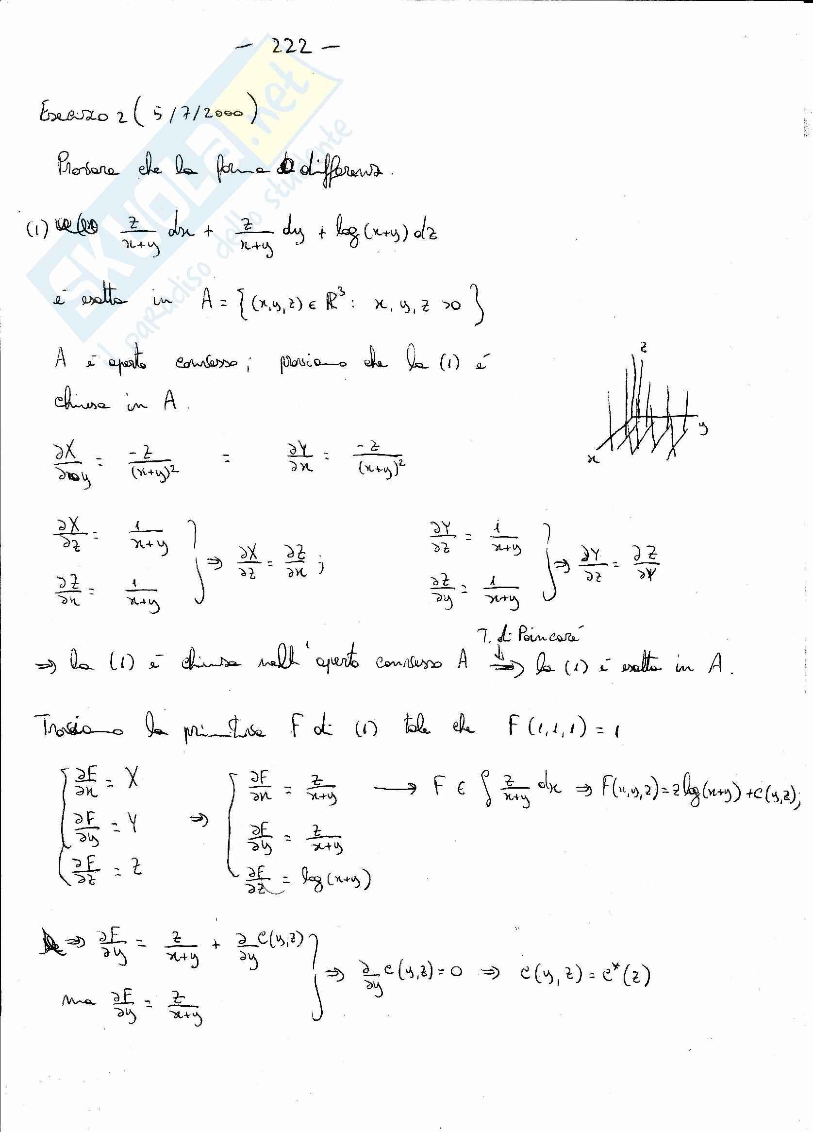 Analisi matematica 2 - l'integrale di Lebesgue per le funzioni di segno qualsiasi Pag. 6
