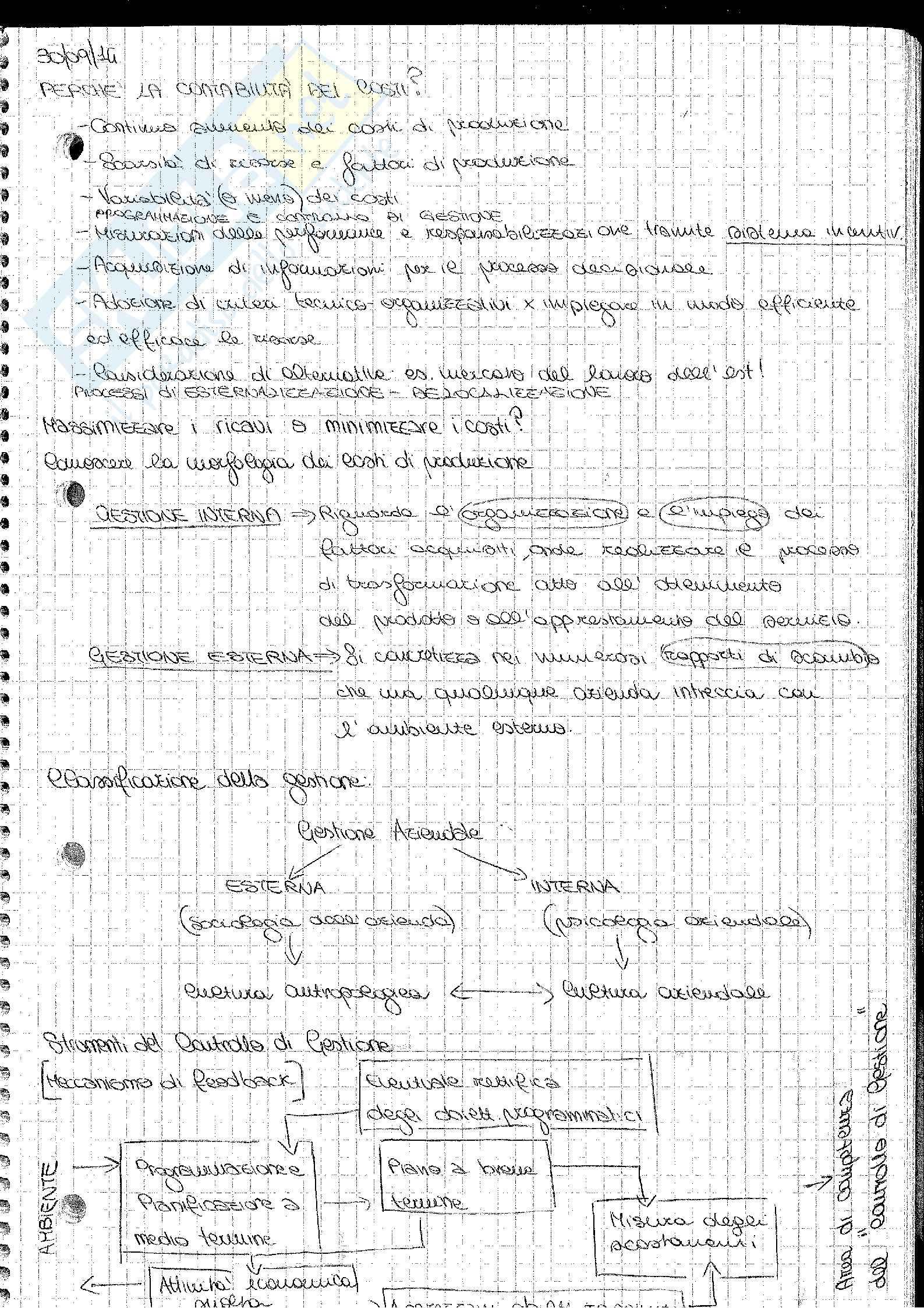 Analisi e Contabilità dei Costi Barnabè