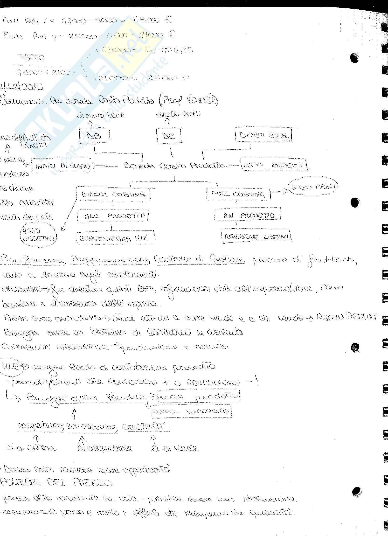 Analisi e Contabilità dei Costi Barnabè Pag. 106