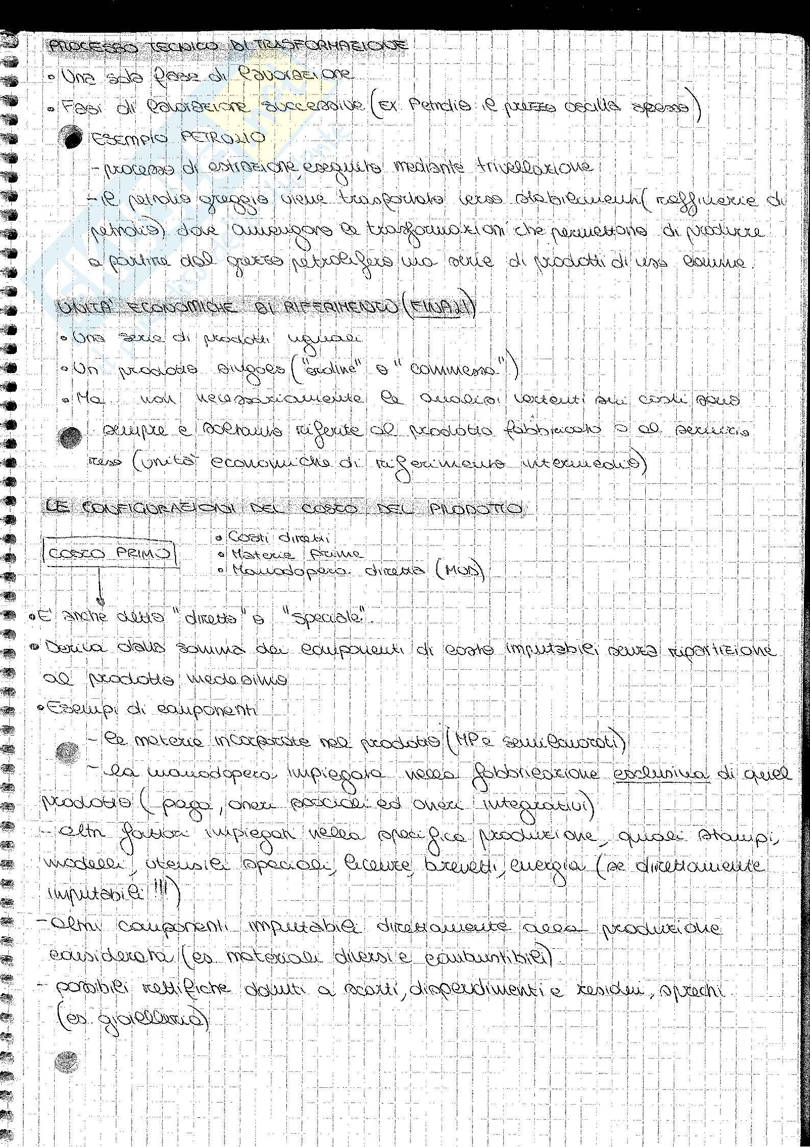 Analisi e Contabilità dei Costi Barnabè Pag. 11