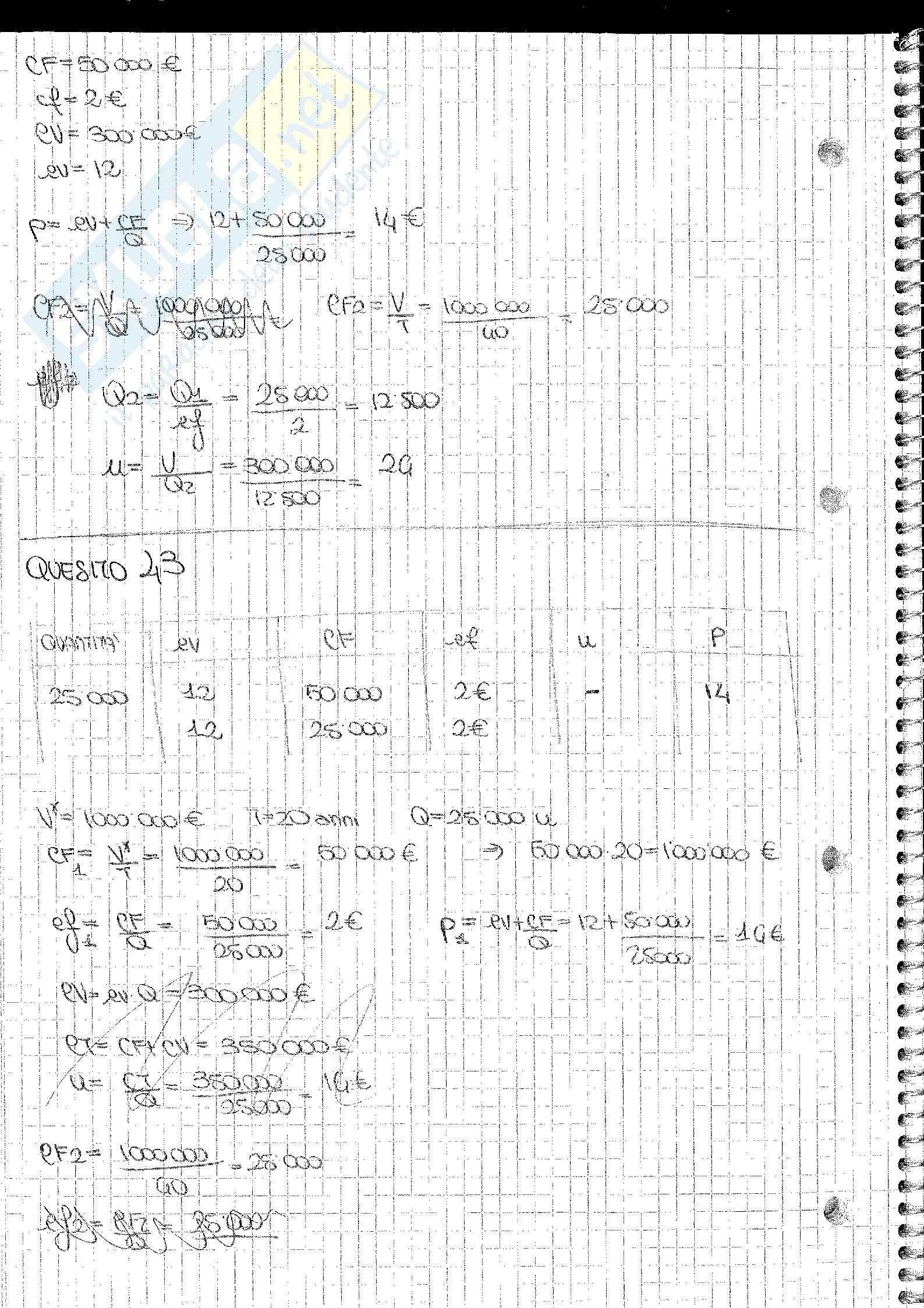 Analisi e Contabilità dei Costi Barnabè Pag. 46