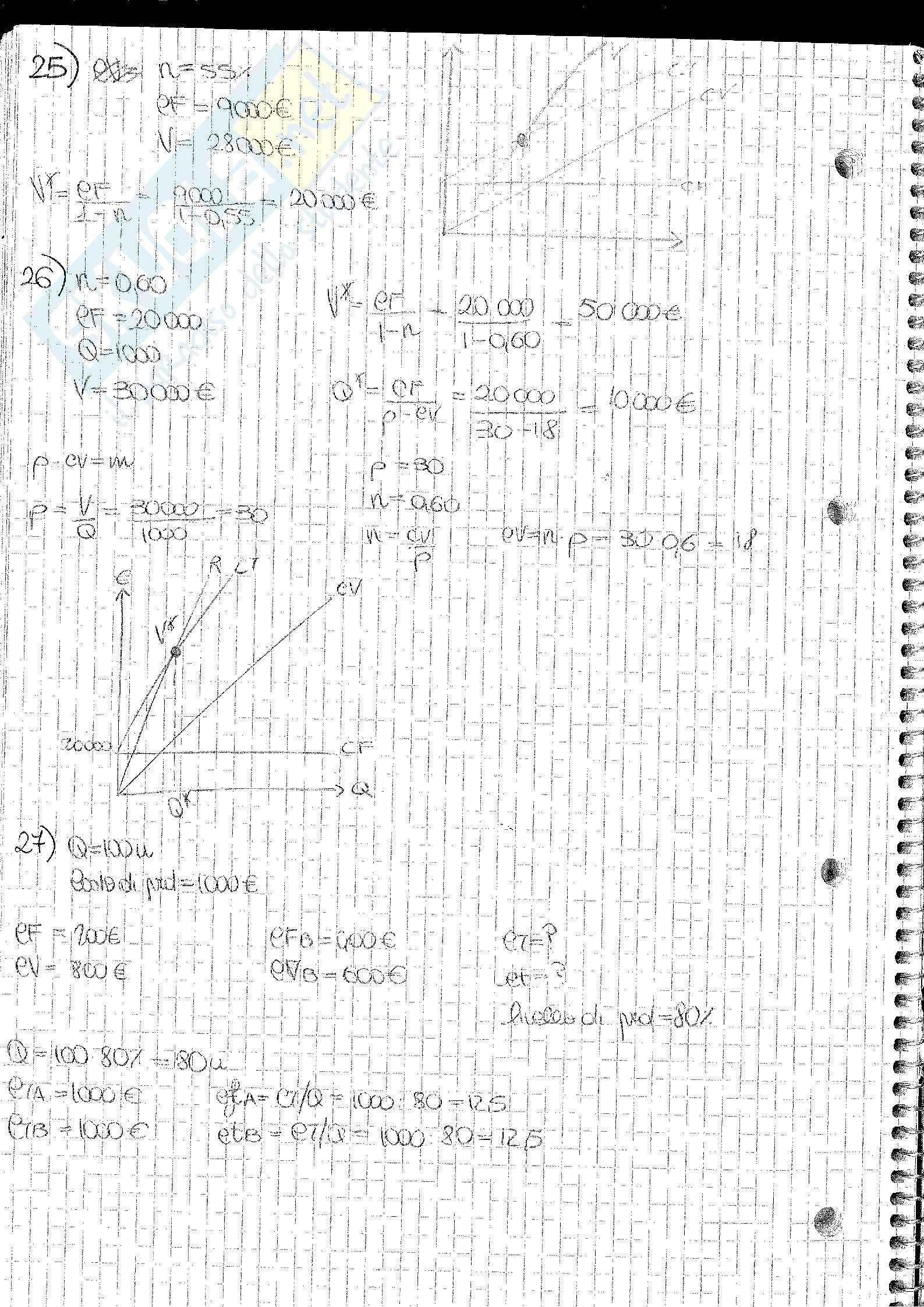 Analisi e Contabilità dei Costi Barnabè Pag. 76