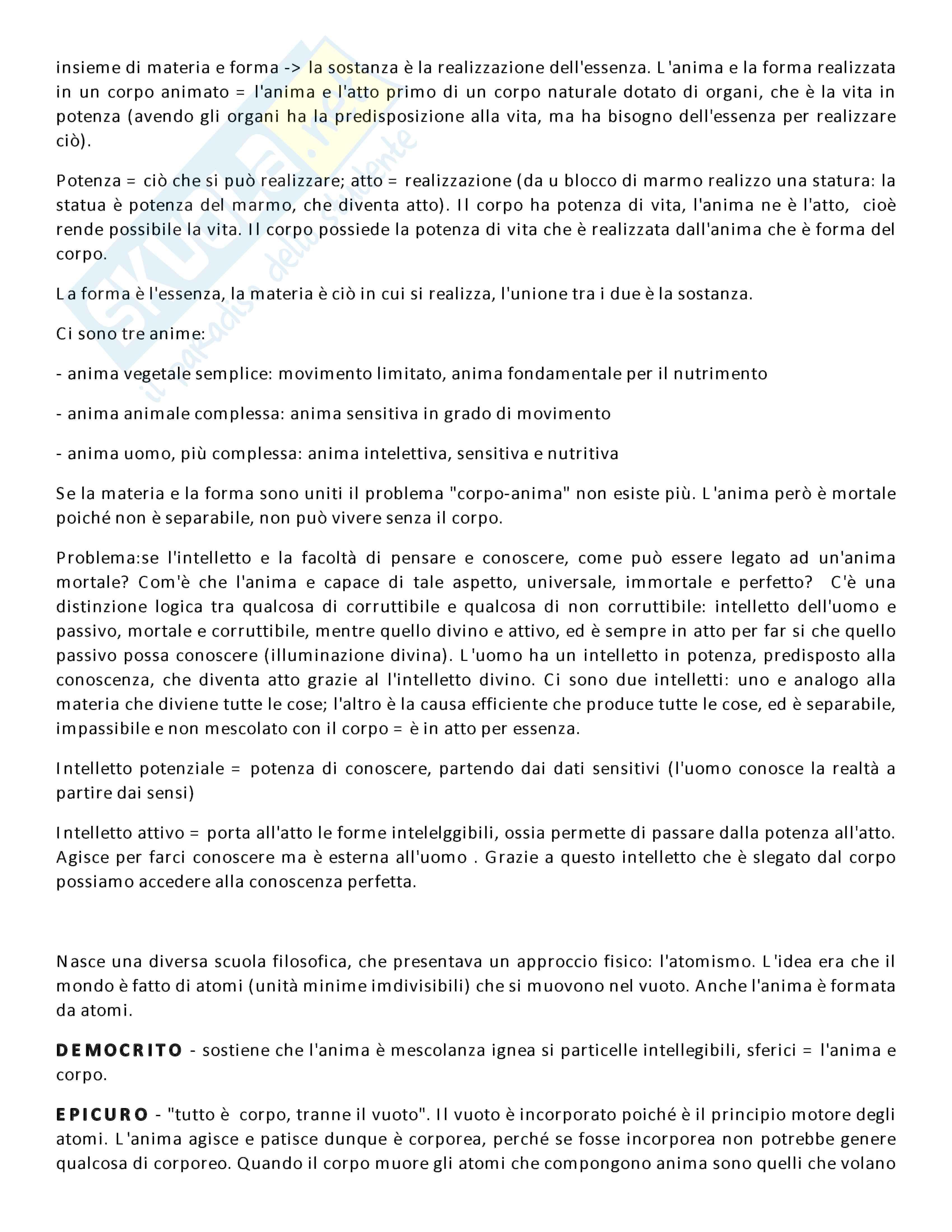 Appunti lezione di Filosofia - Università di Torino Pag. 2