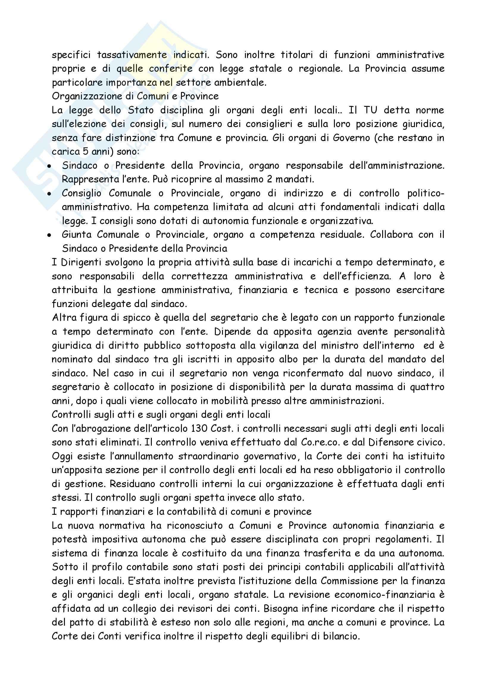 Riassunto esame Diritto Amministrativo, prof. Morbidelli, libro consigliato Manuale di Diritto Amministrativo, Casetta Pag. 31