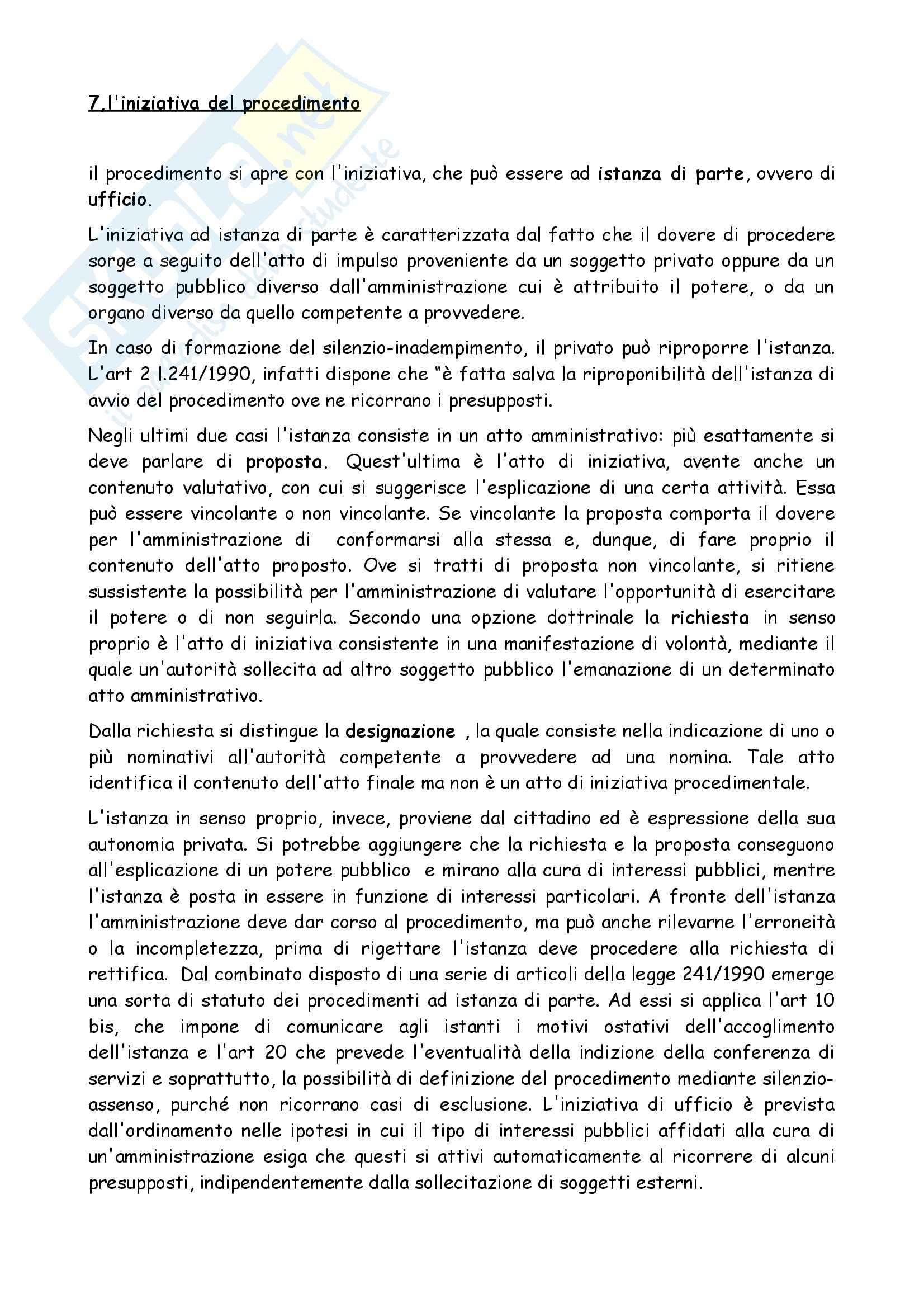 Riassunto esame Diritto Amministrativo, prof. Morbidelli, libro consigliato Manuale di Diritto Amministrativo, Casetta Pag. 51