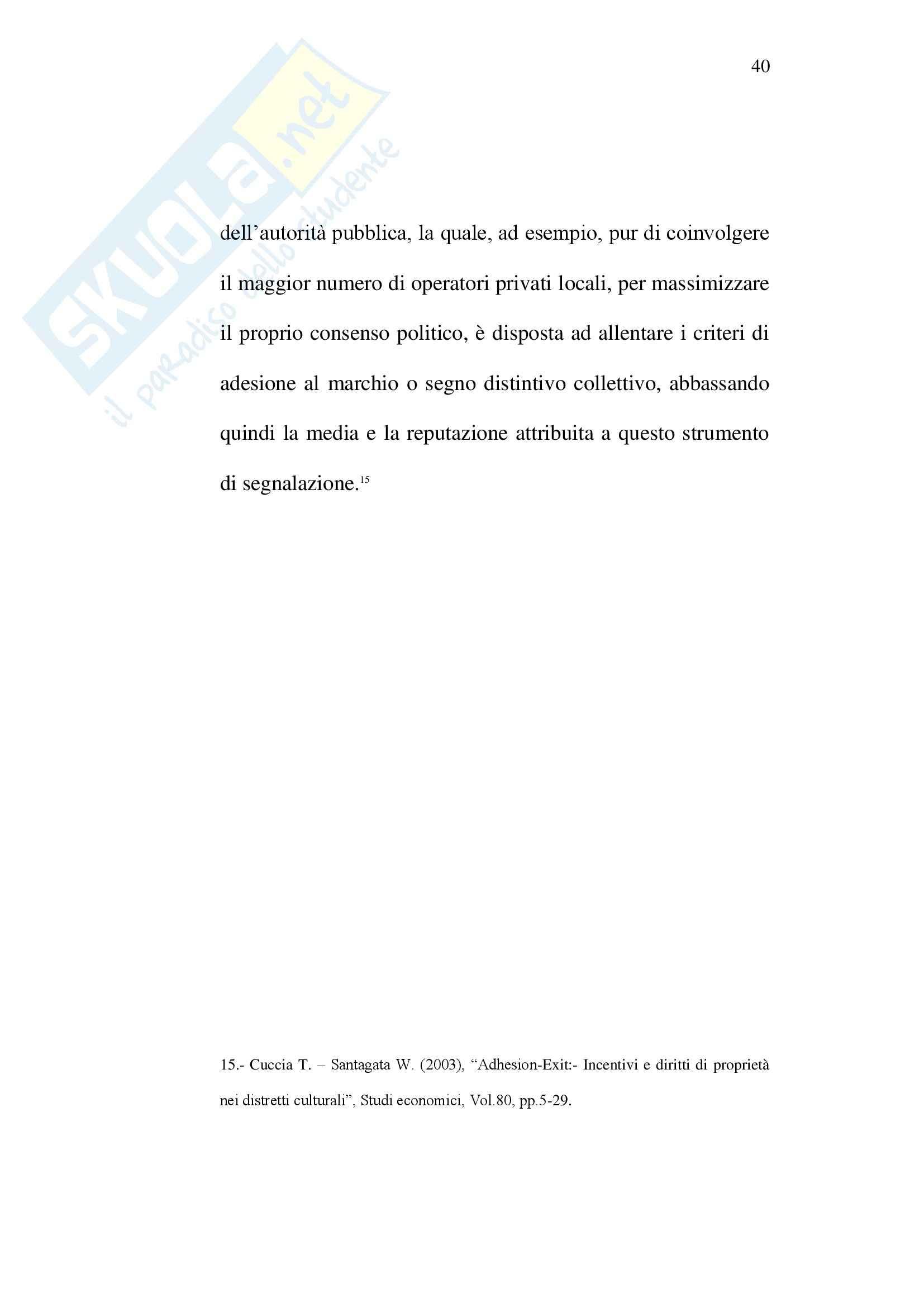 Tesi di laurea sociologia lo sviluppo del turismo in Sicilia Pag. 41