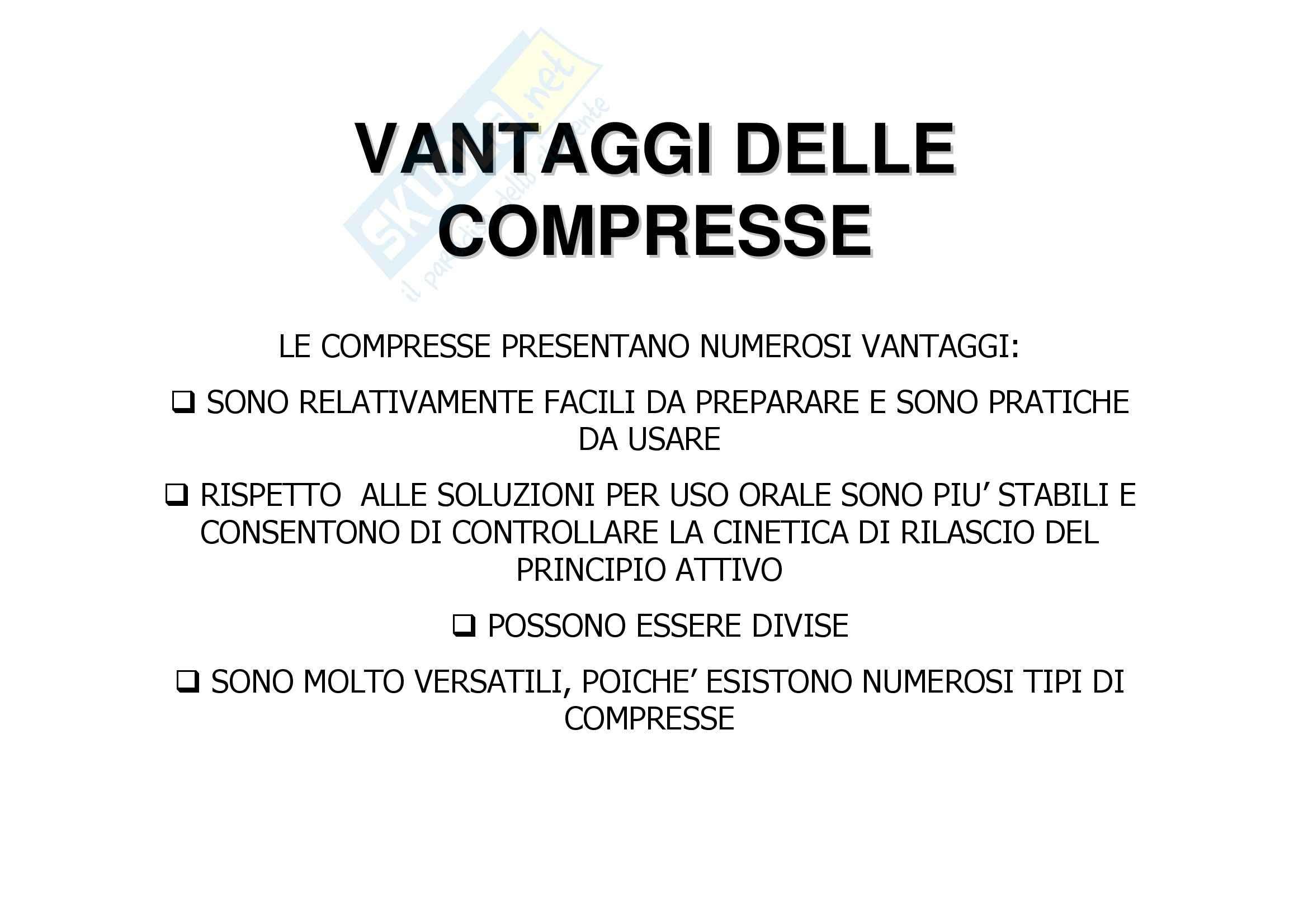 Tecnica farmaceutica - compressione e compresse Pag. 6