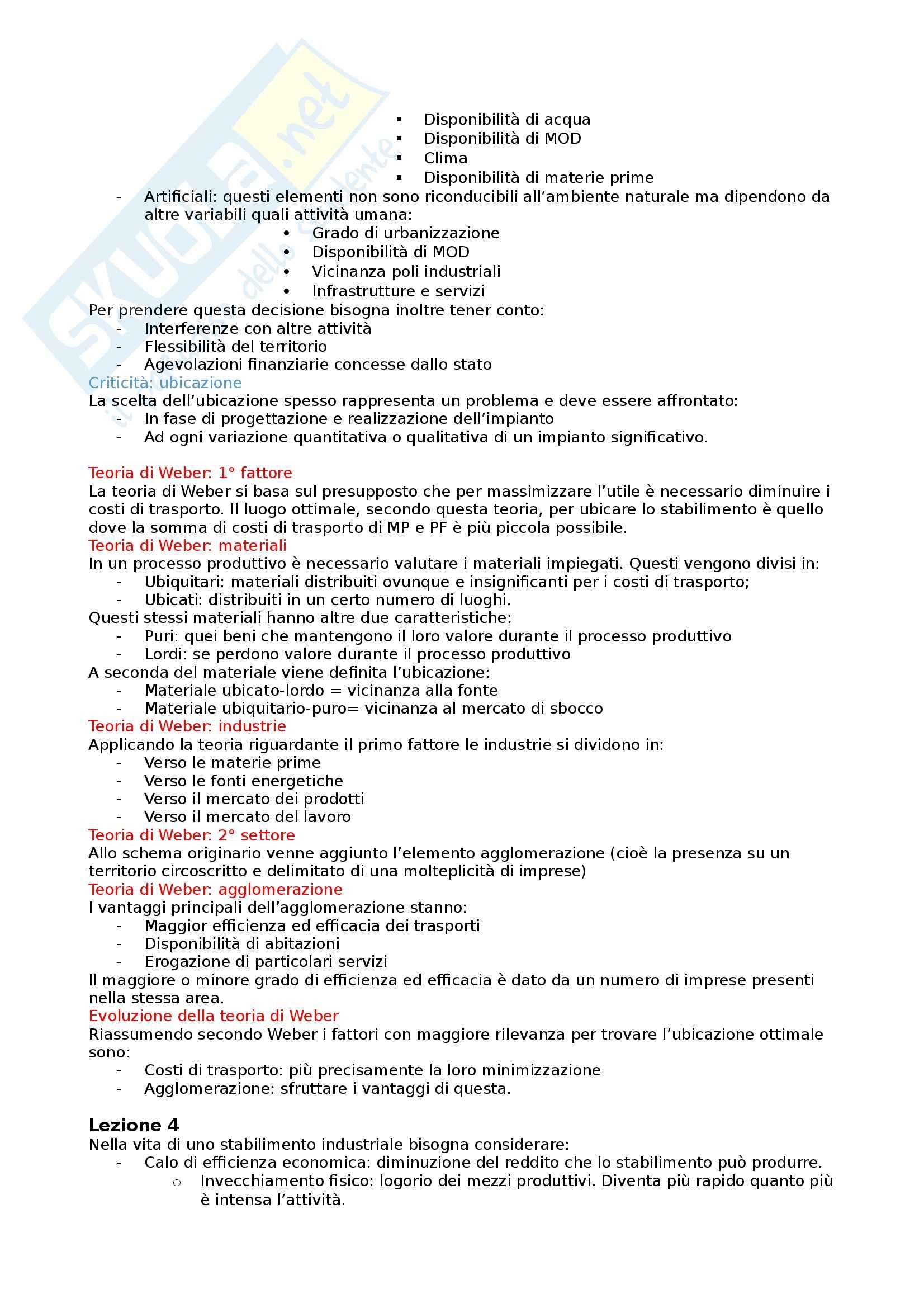 Tecnologia della produzione - Appunti Pag. 11