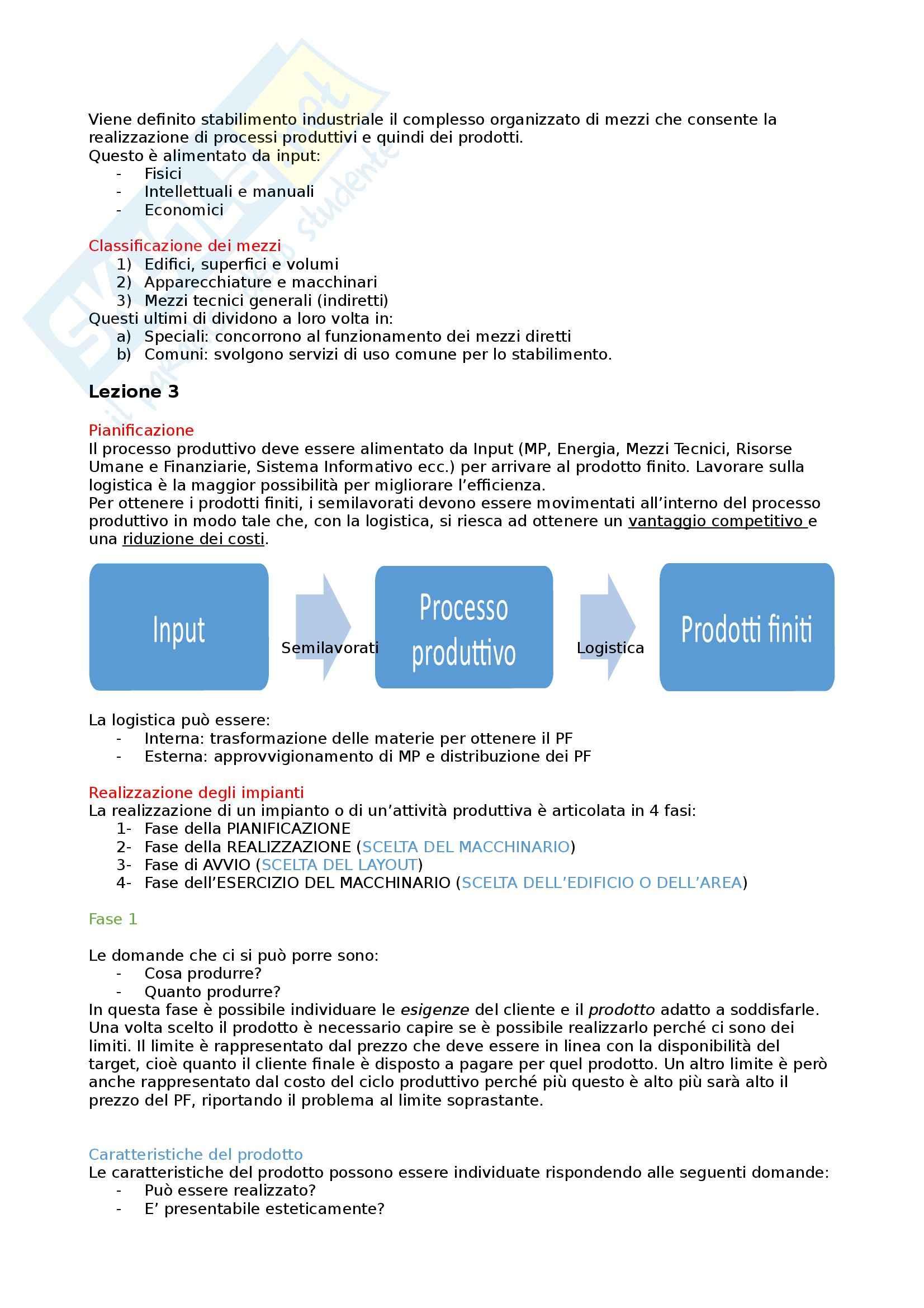 Tecnologia della produzione - Appunti Pag. 6