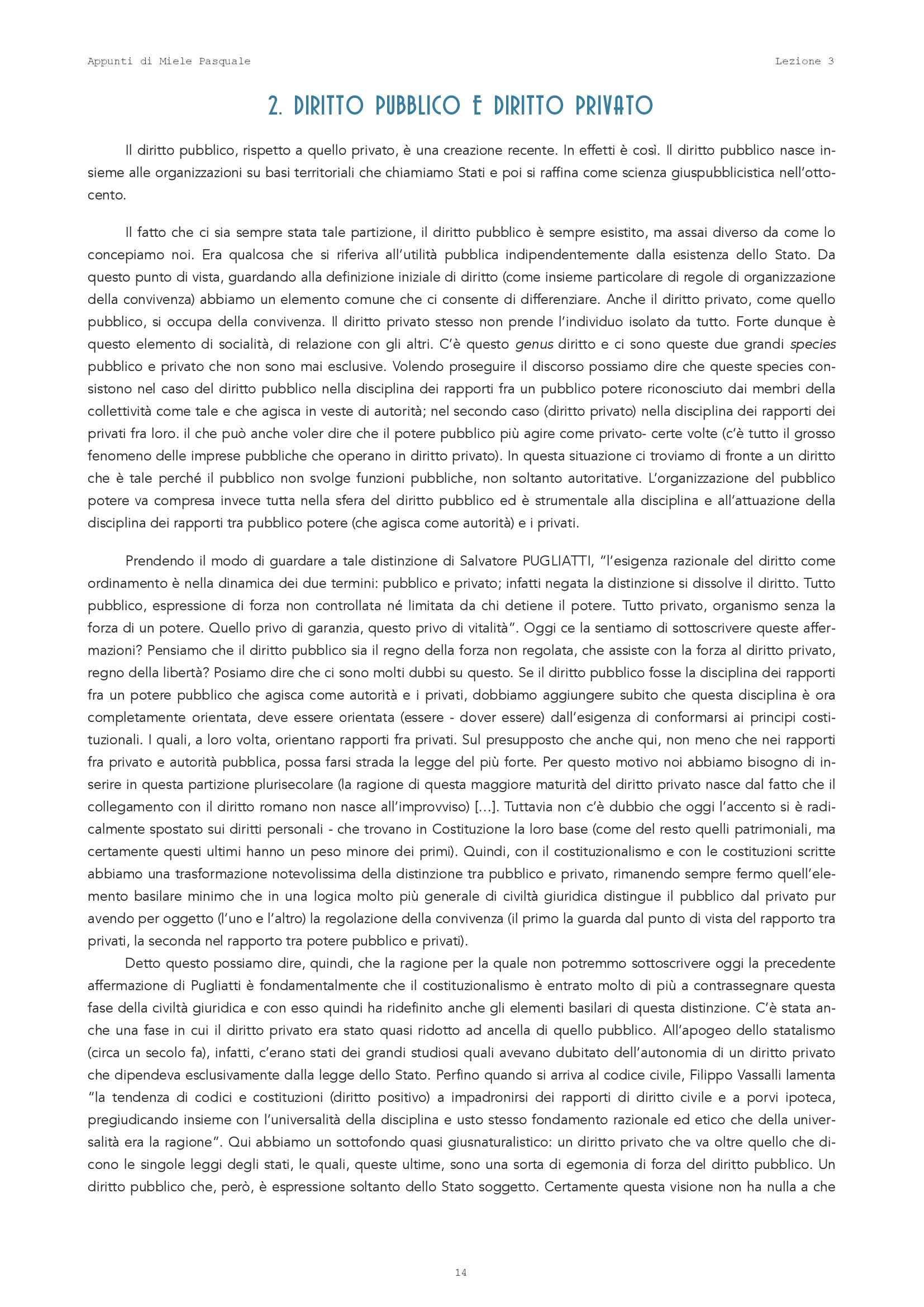 Istituzioni di diritto pubblico - Lezione 3