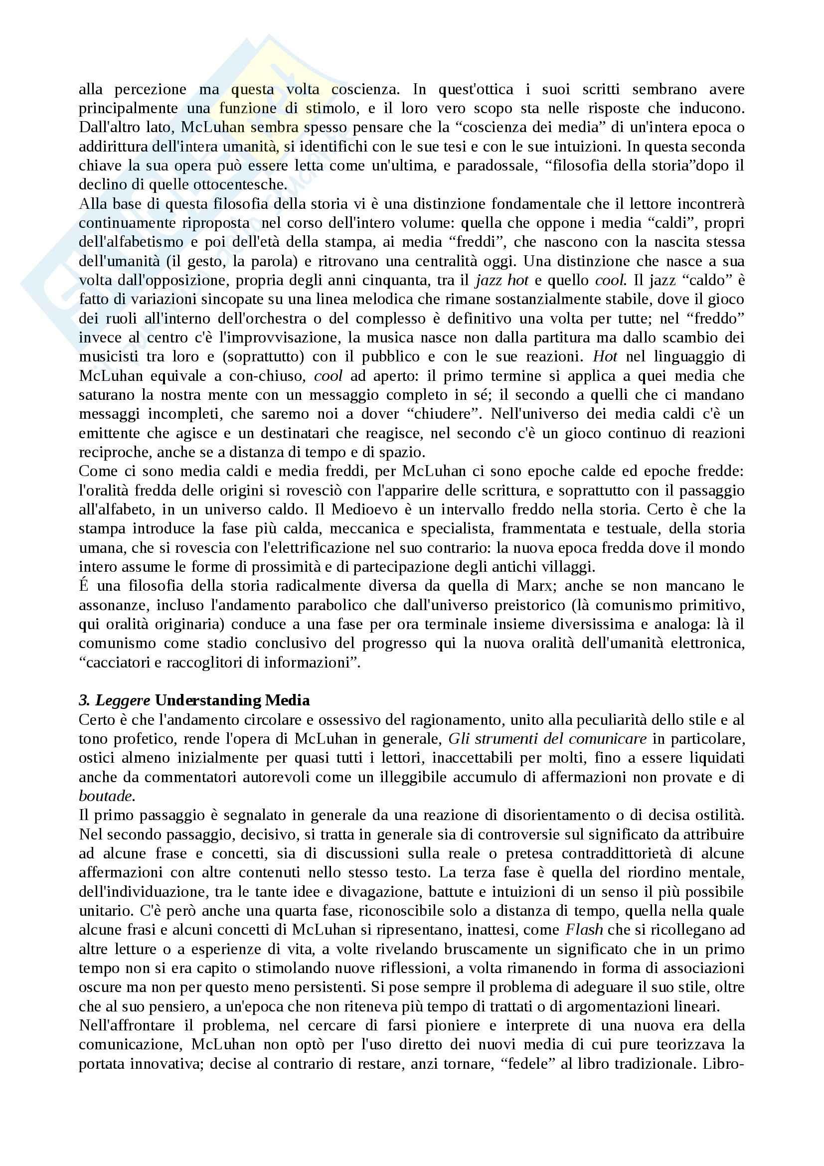 Media: storia e teoria - Appunti Pag. 2