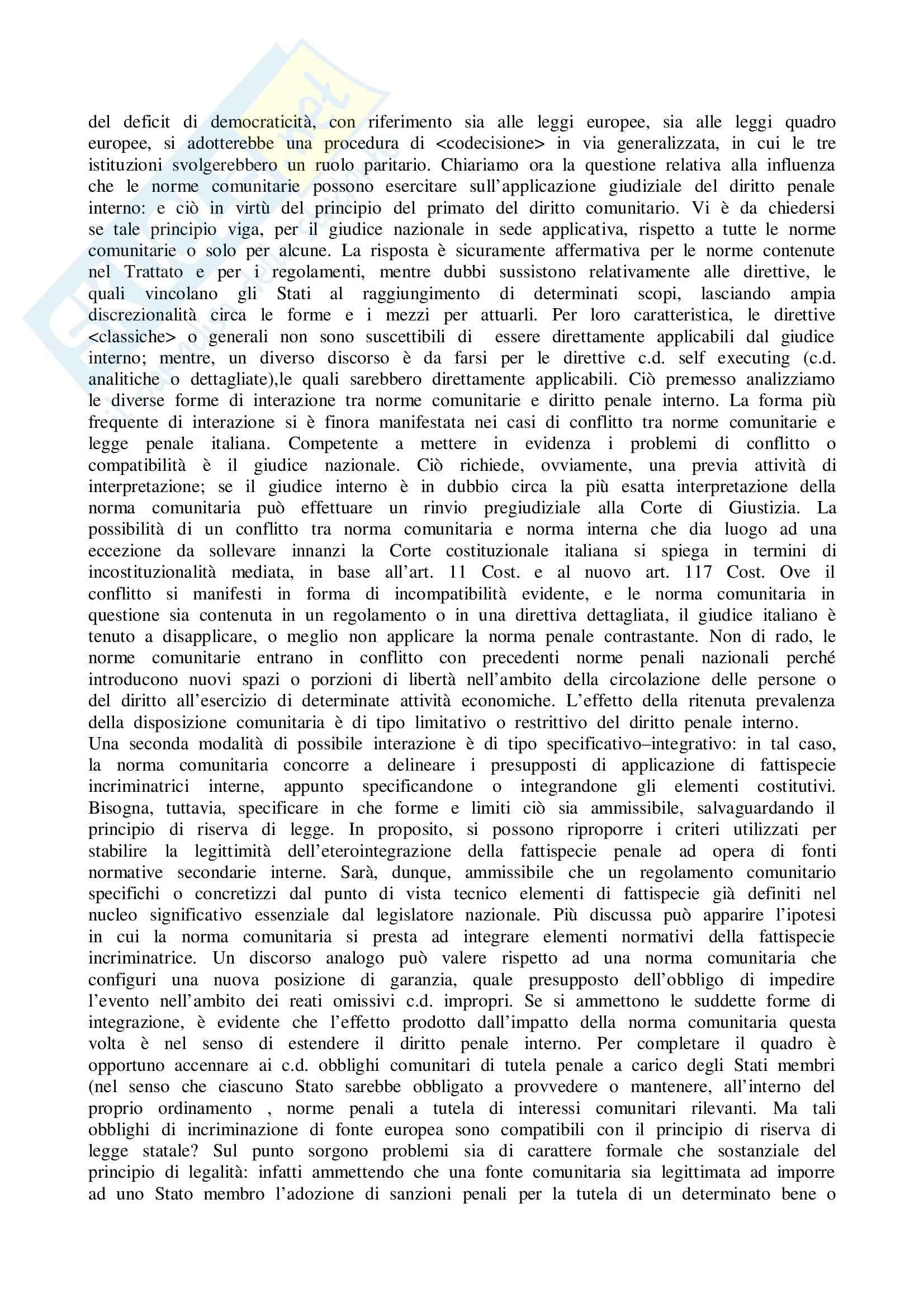 Riassunto esame Diritto Penale, prof. Sicurella, libro consigliato Manuale Diritto Penale, Fiandaca, Musco Pag. 11