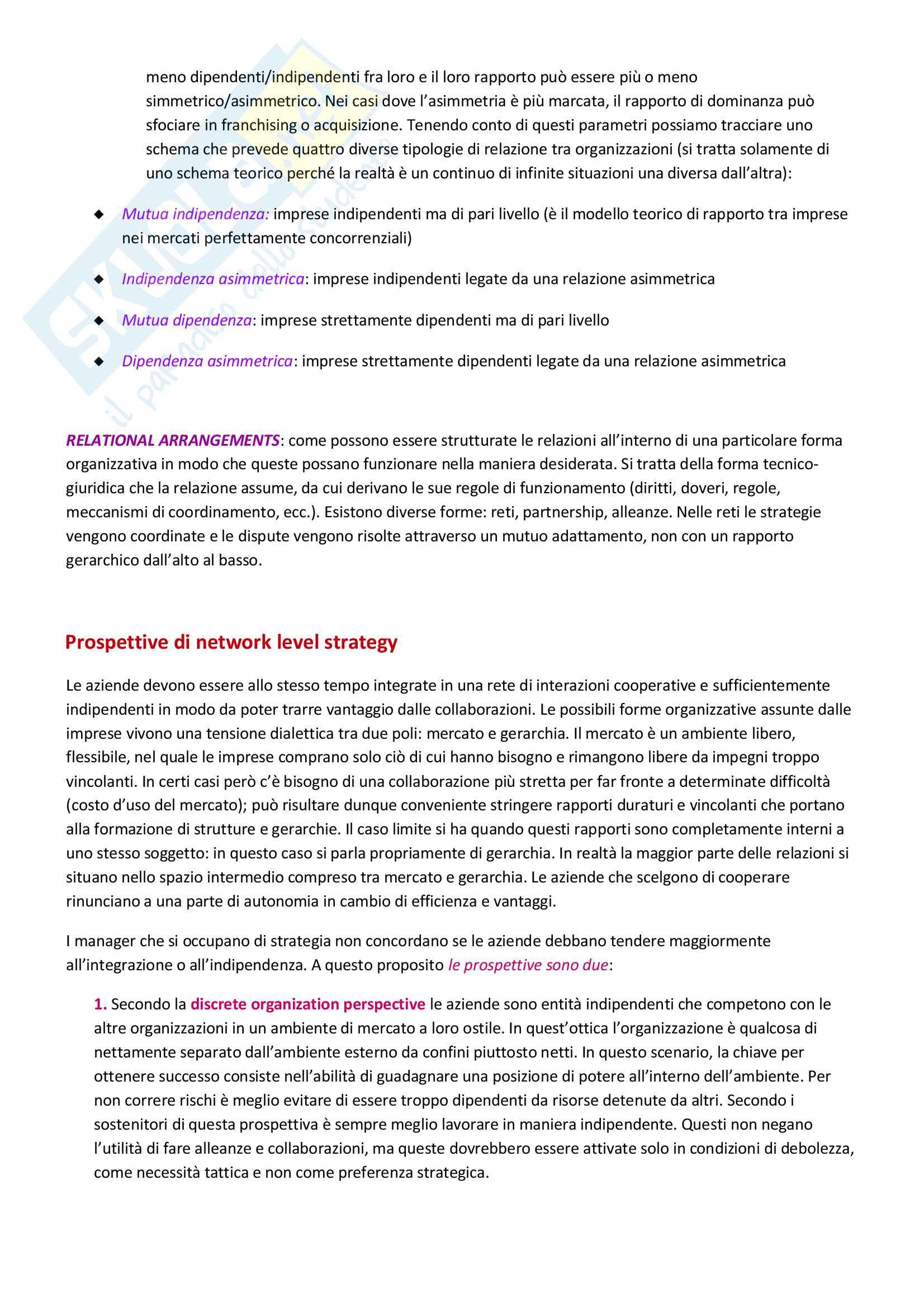 Governo delle organizzazioni culturali, prof Tamma Pag. 31