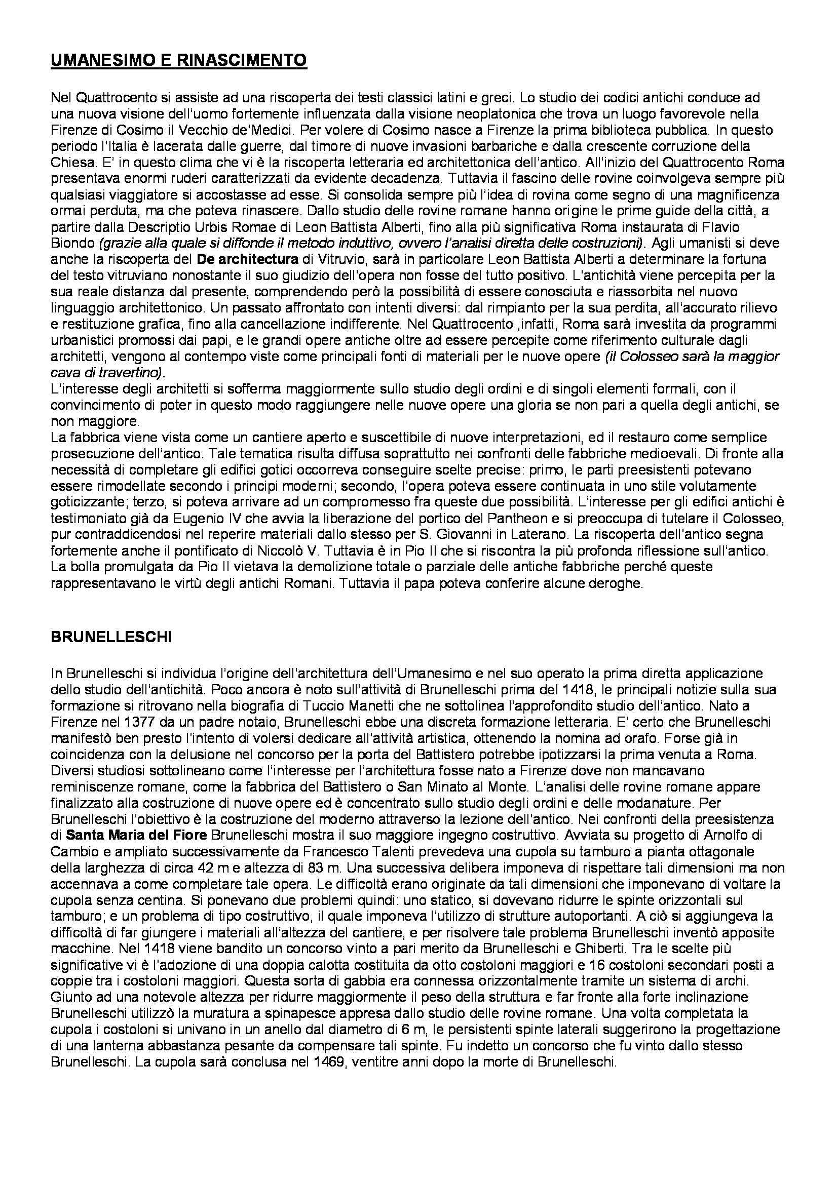 Riassunto esame Teoria e Storia del Restauro, prof. Picone, libro consigliato Verso una Storia del Restauro, Casiello Pag. 2