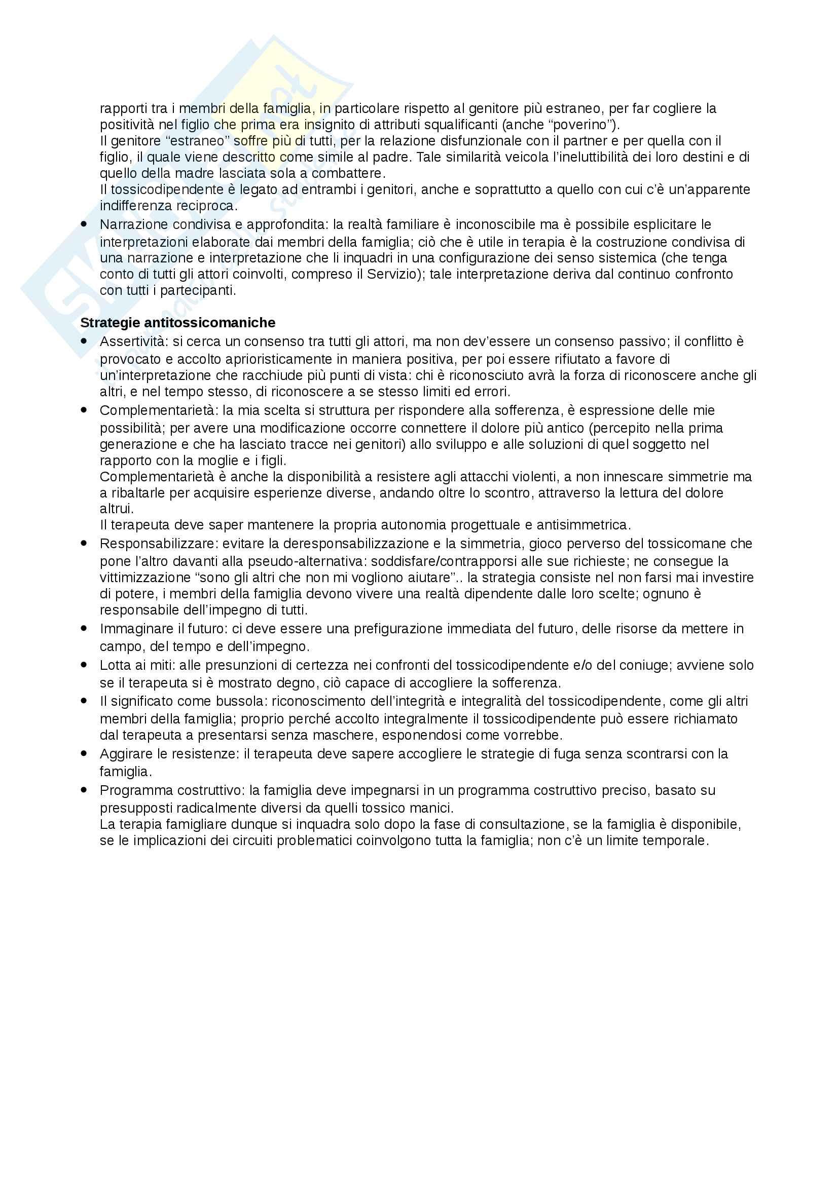 Riassunto esame Dipendenze Patologiche, docente Di Blasi, libro consigliato Doppia Diagnosi, autore Rigliano Pag. 16