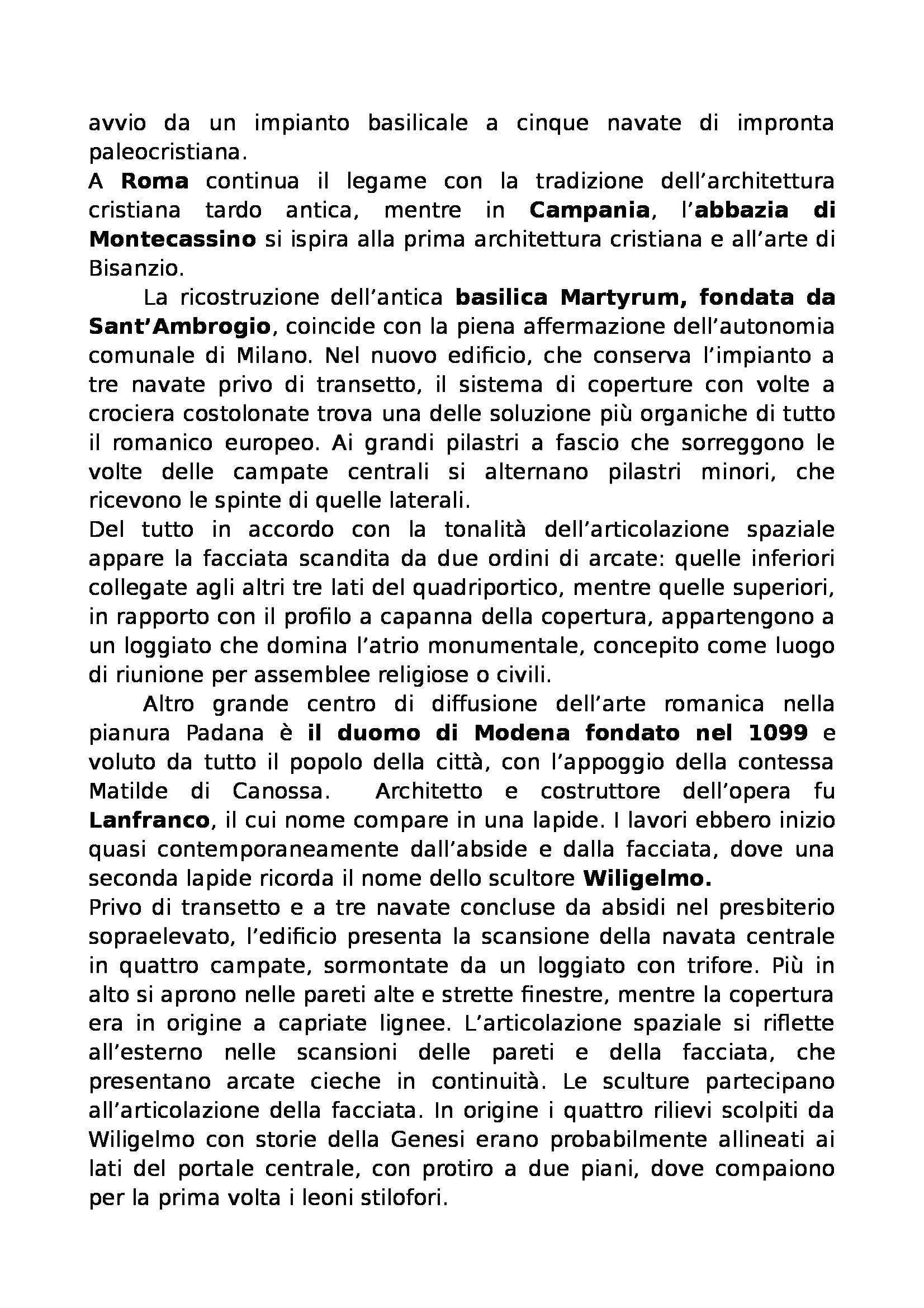 Riassunto esame Storia dell'arte medievale, prof. De Marchi, libro consigliato Arte nel Tempo, De Vecchi, Cerchiari Pag. 41