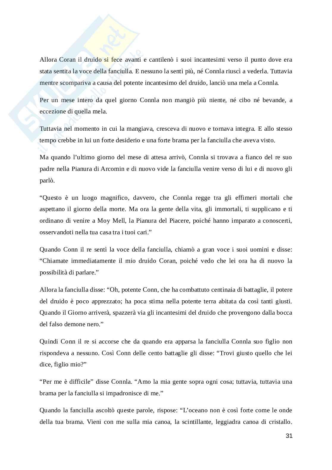 Proposta di traduzione di una raccolta di fiabe irlandesi Pag. 31