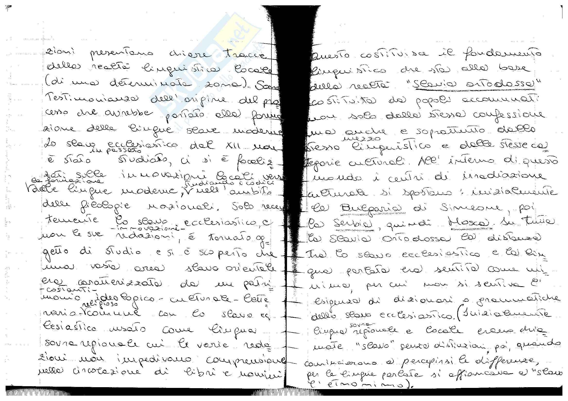 appunto N. Marcialis Filologia slava