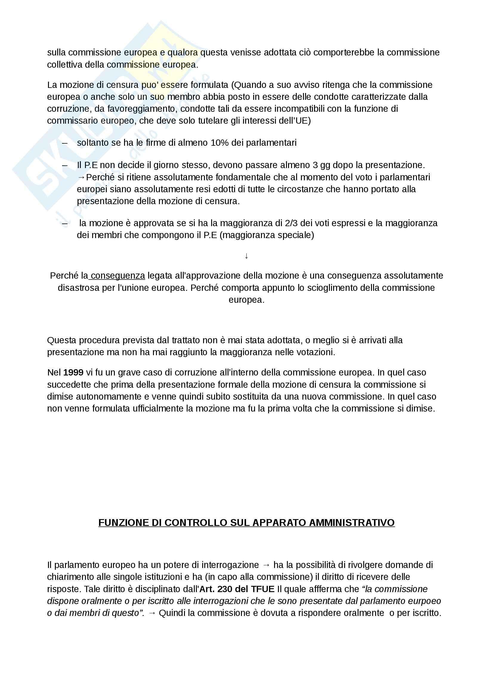 Lezioni, Diritto dell'Unione Europea Pag. 36