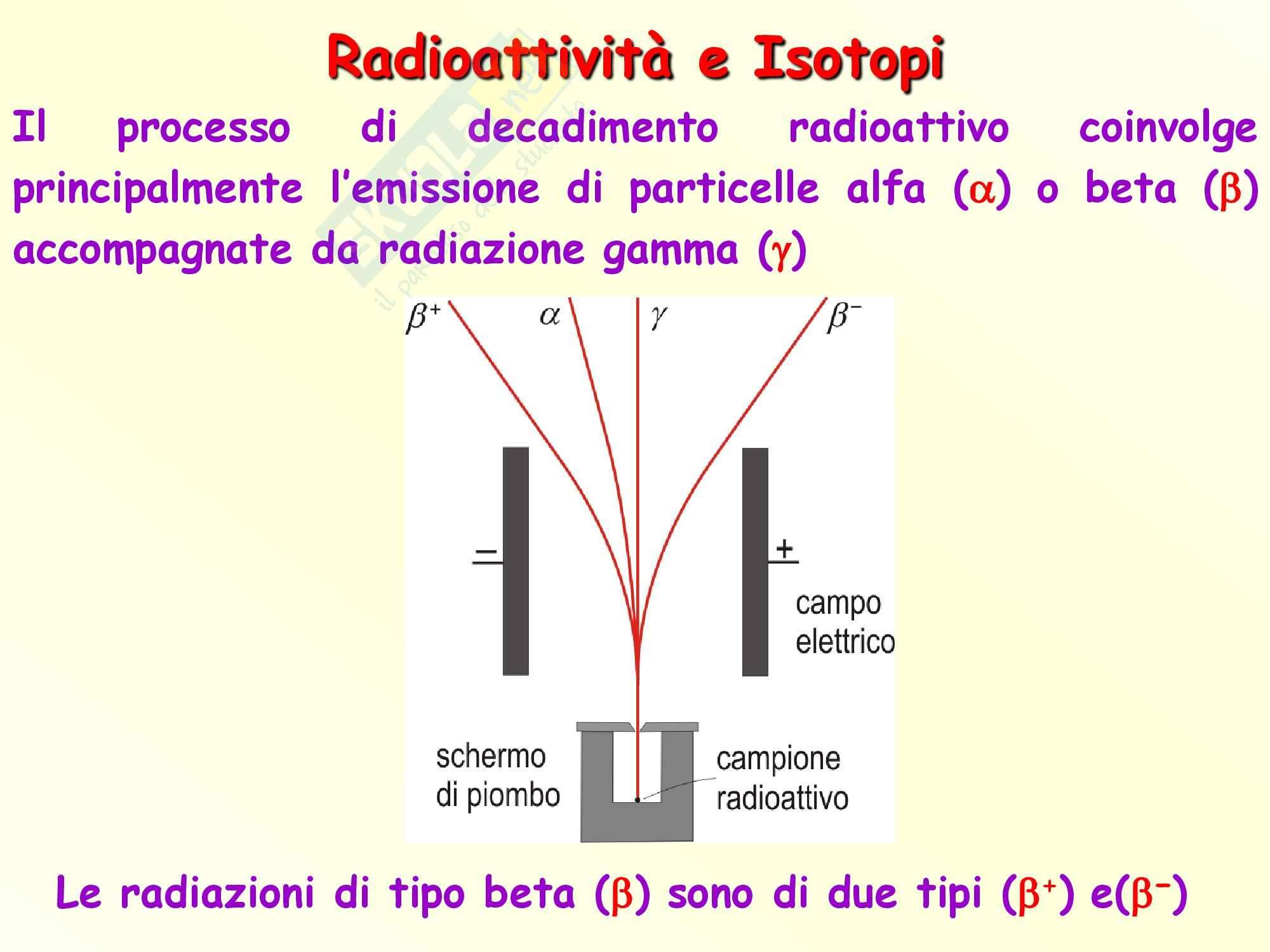 Chimica inorganica - isotopi e radioattività Pag. 6
