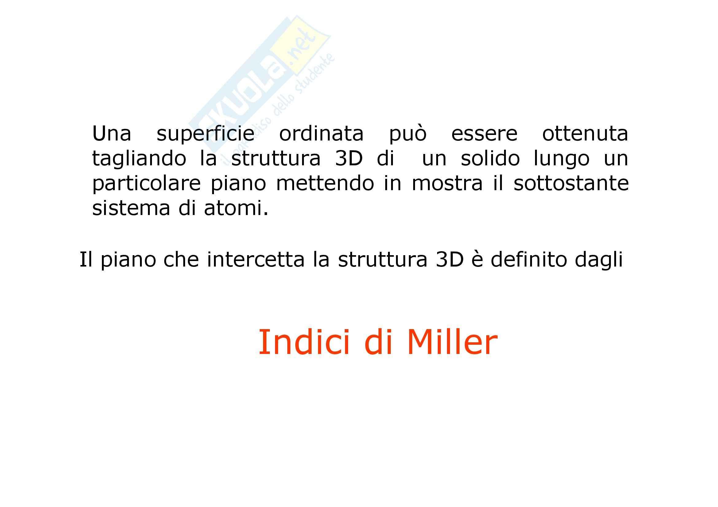 Mineralogia - Come Mettere Gli Indici Di Miller