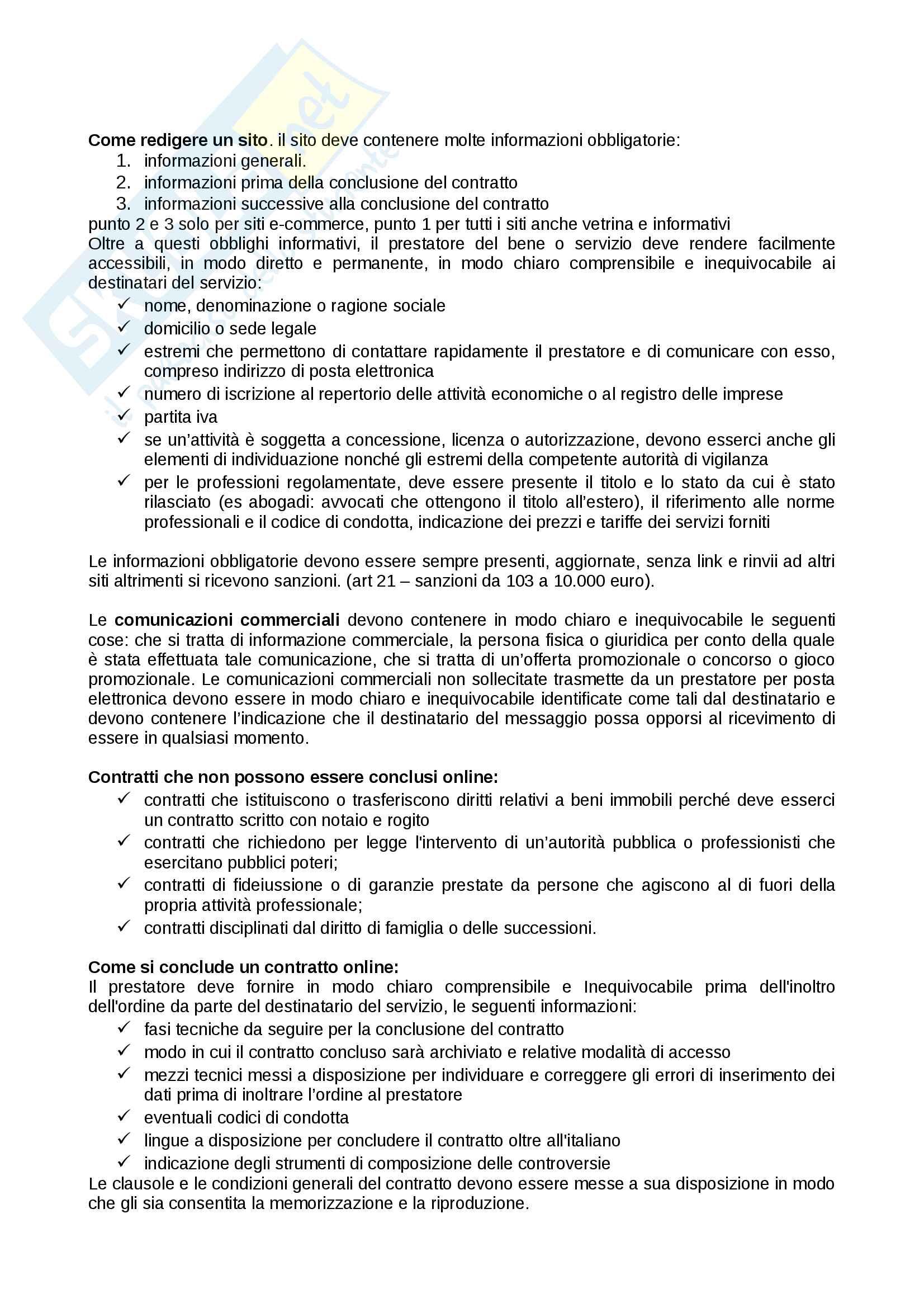 Diritto della comunicazione,  appunti perfetti Pag. 21