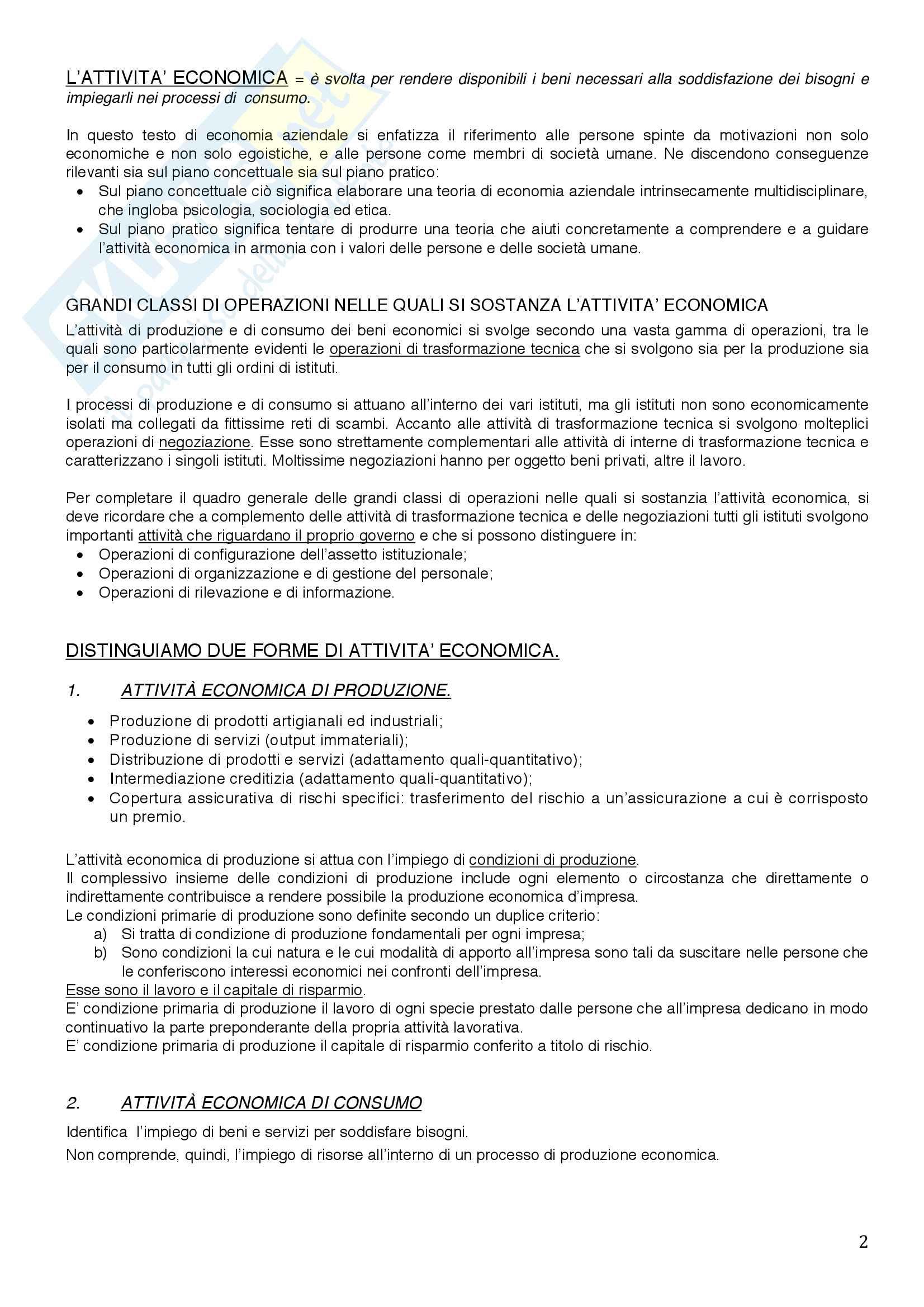 Economia aziendale Pag. 2