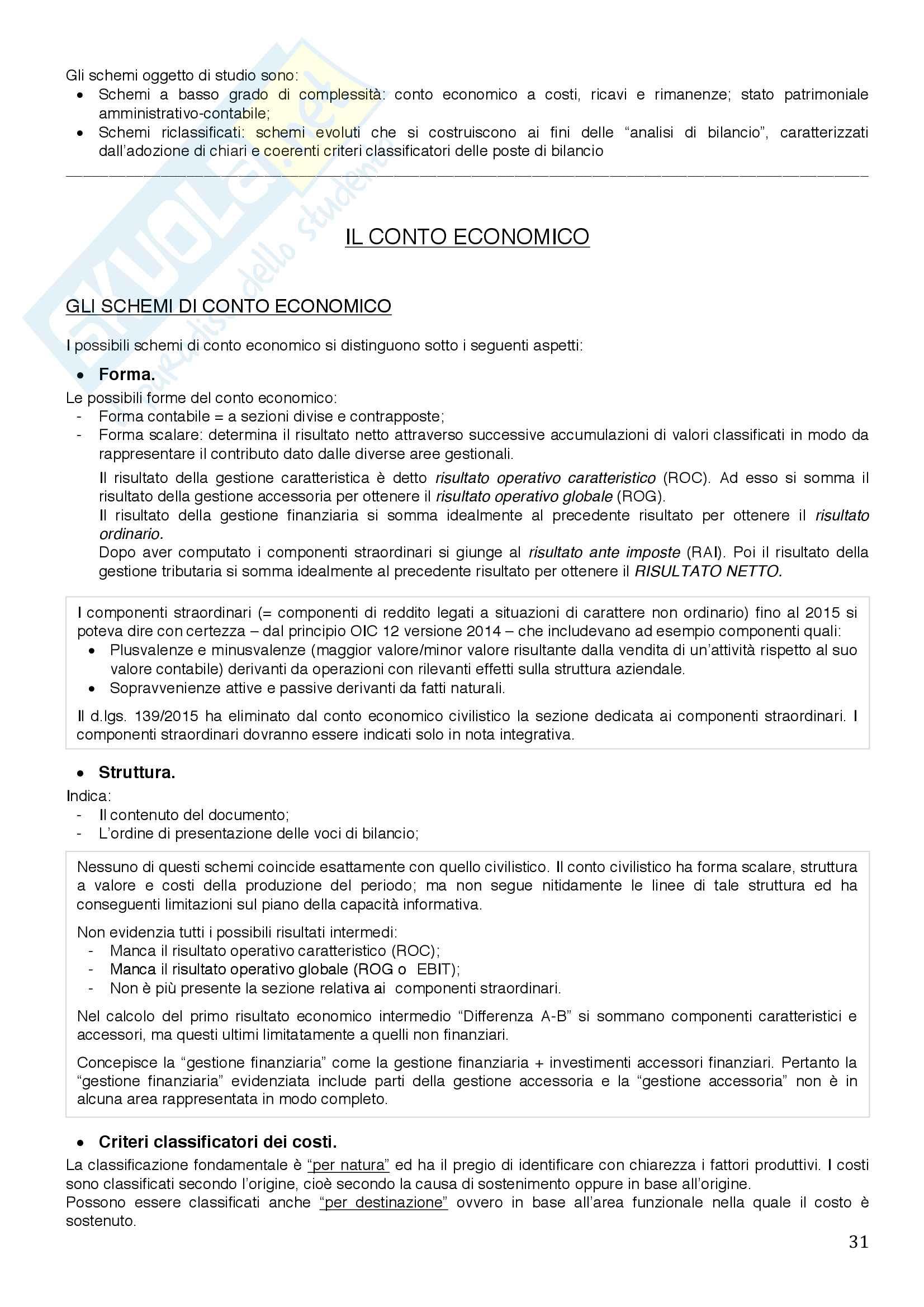 Economia aziendale Pag. 31