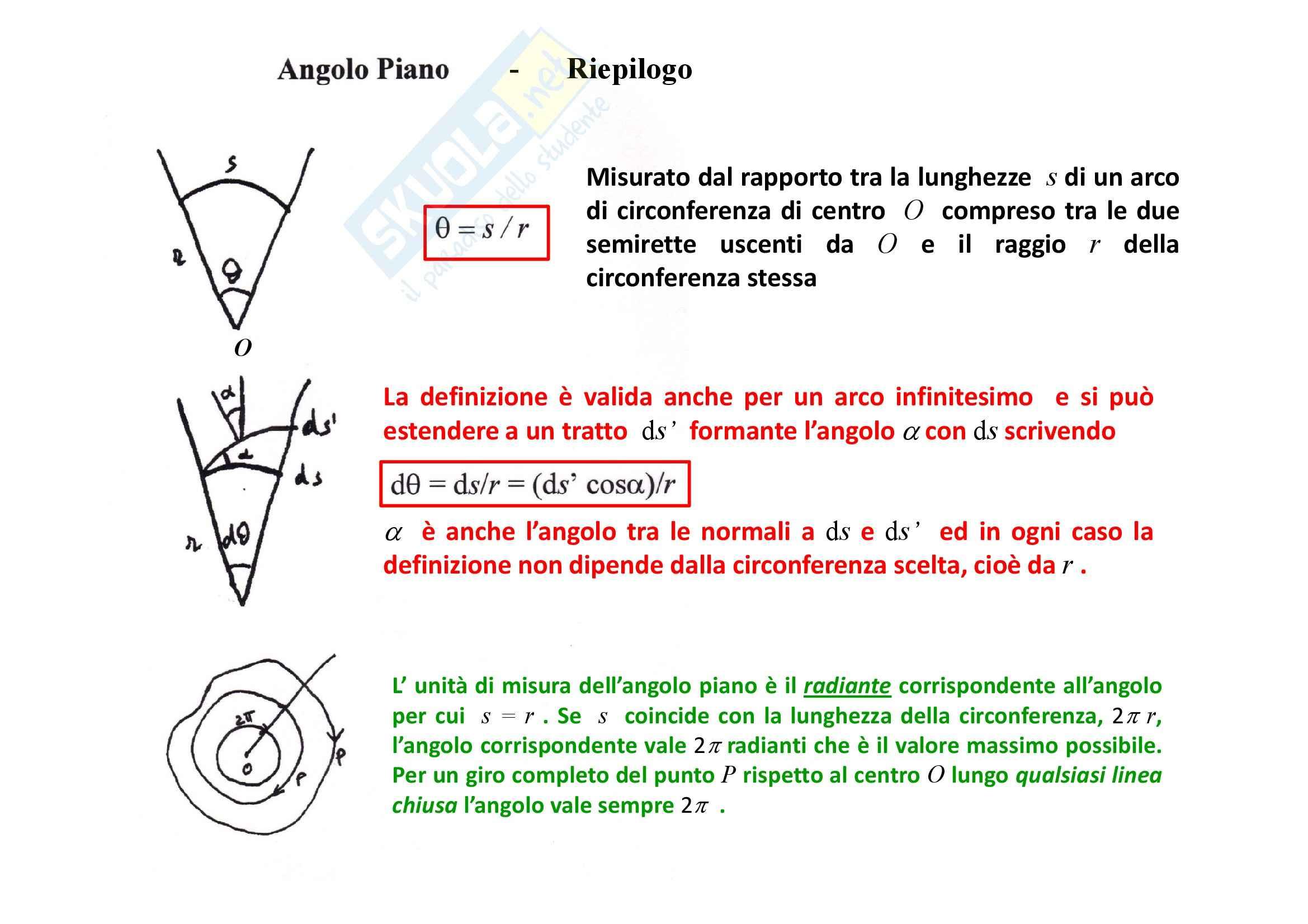 Fisica generale - Teorema di Gauss Pag. 6