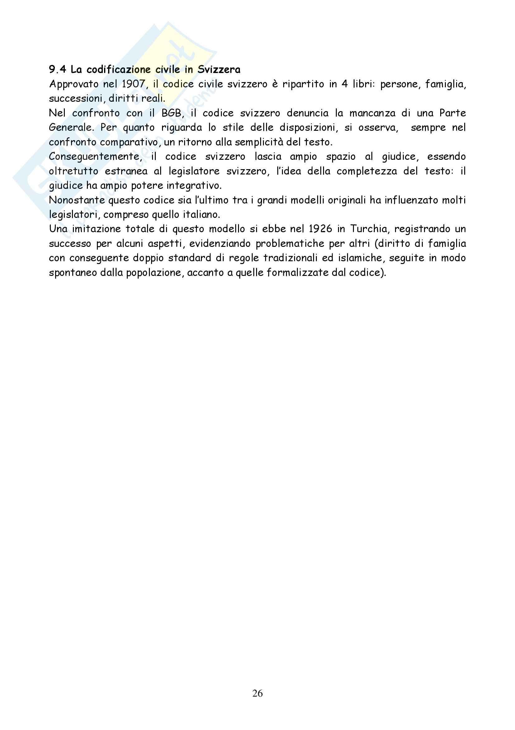 Diritto privato comparato - Ajani - Dispensa Pag. 26