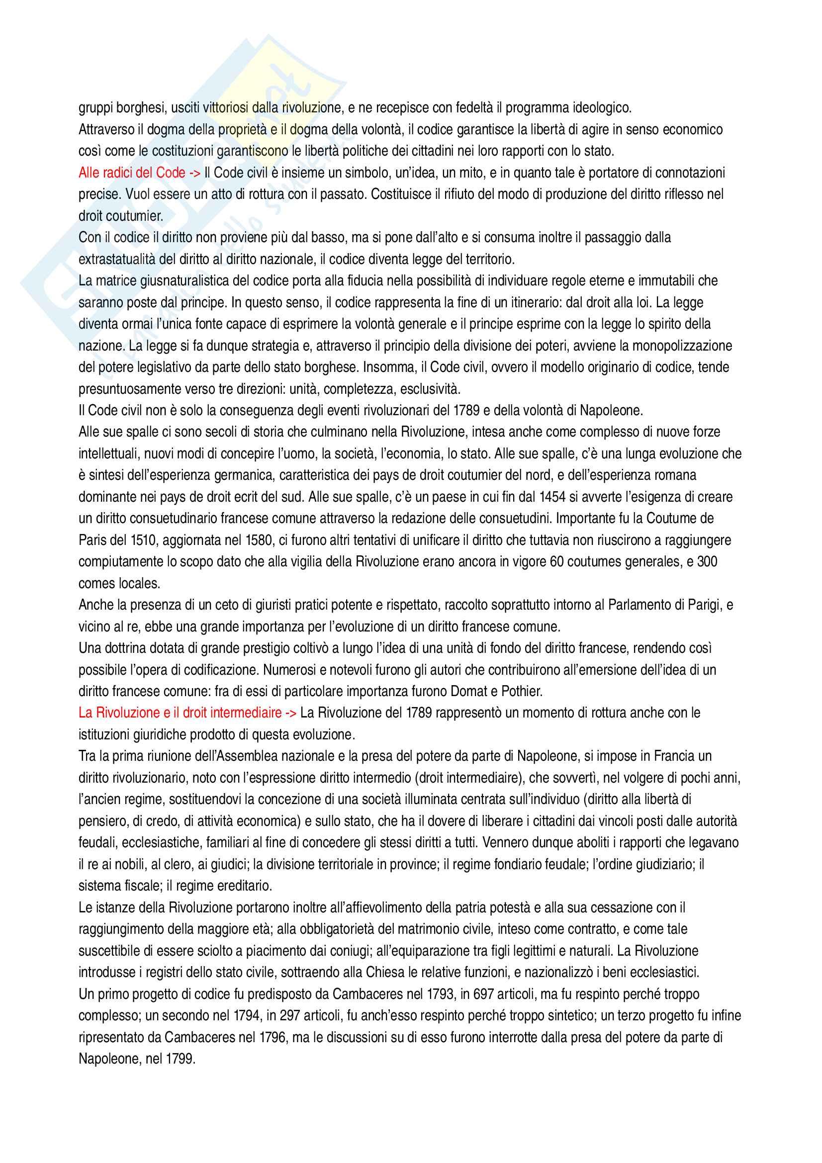 Riassunto esame Sistemi giuridici comparati, prof. Sonelli, libro consigliato La tradizione giuridica occidentale, Varano-Barsotti, Giappichelli Editore, V edizione Pag. 26