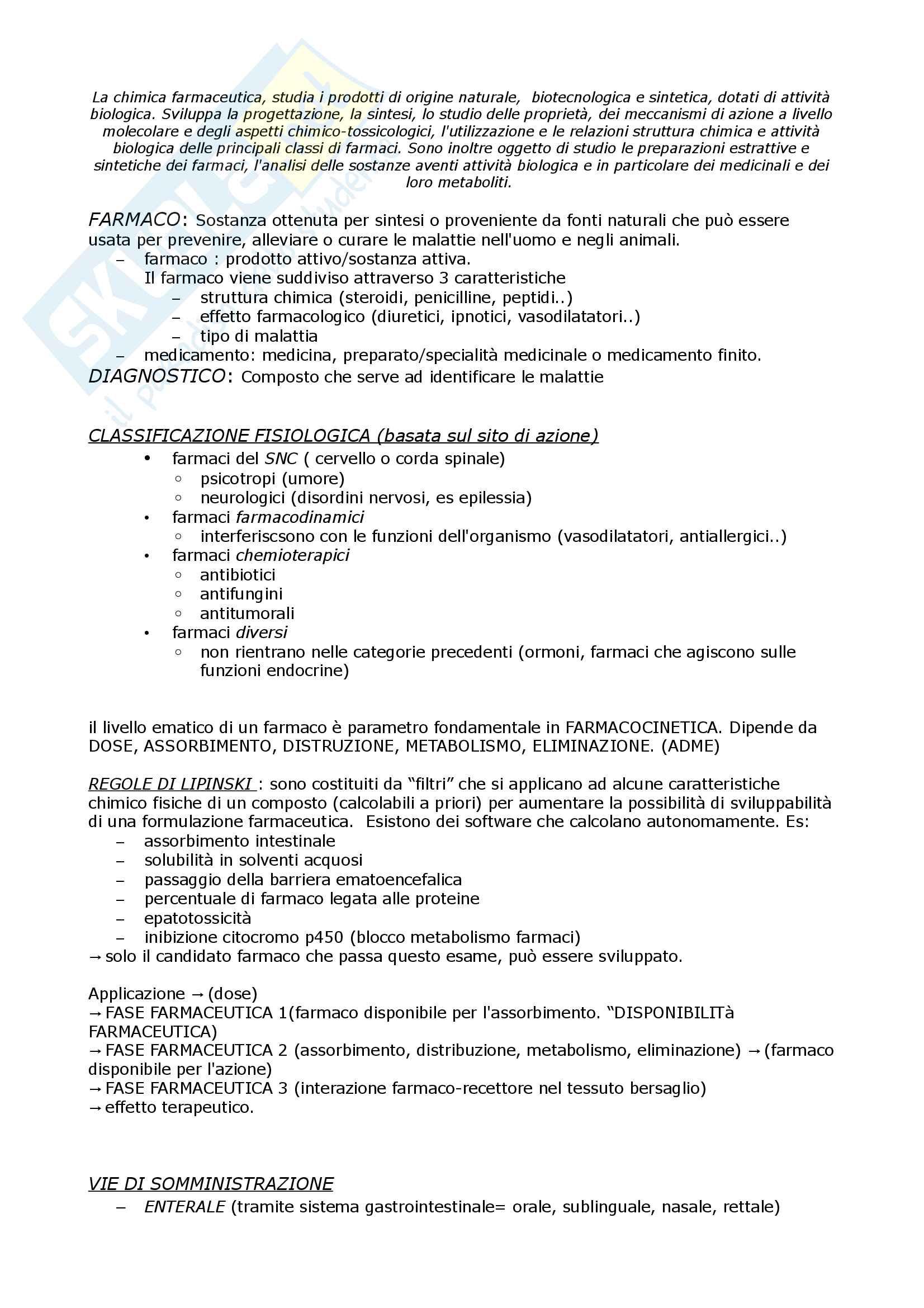 CHIMICA F T 1 prof Rampa parte 1