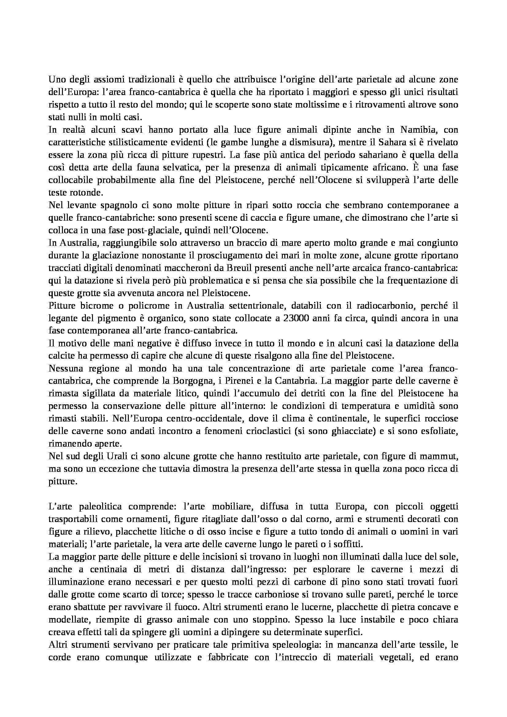 Preistoria e protostoria - Appunti Pag. 36