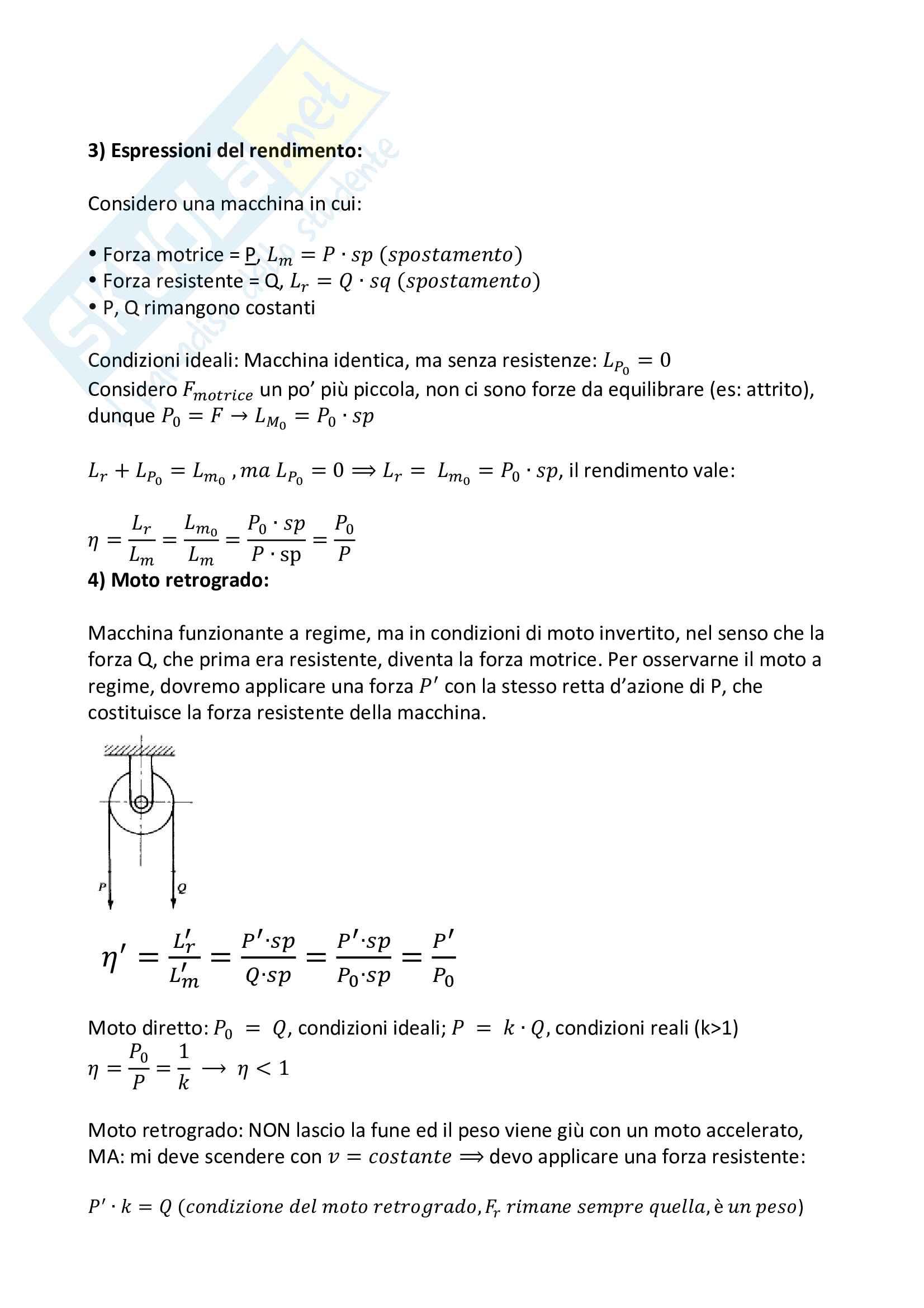 Appunti per l'esame di Meccanica Applicata alle Macchine Pag. 11