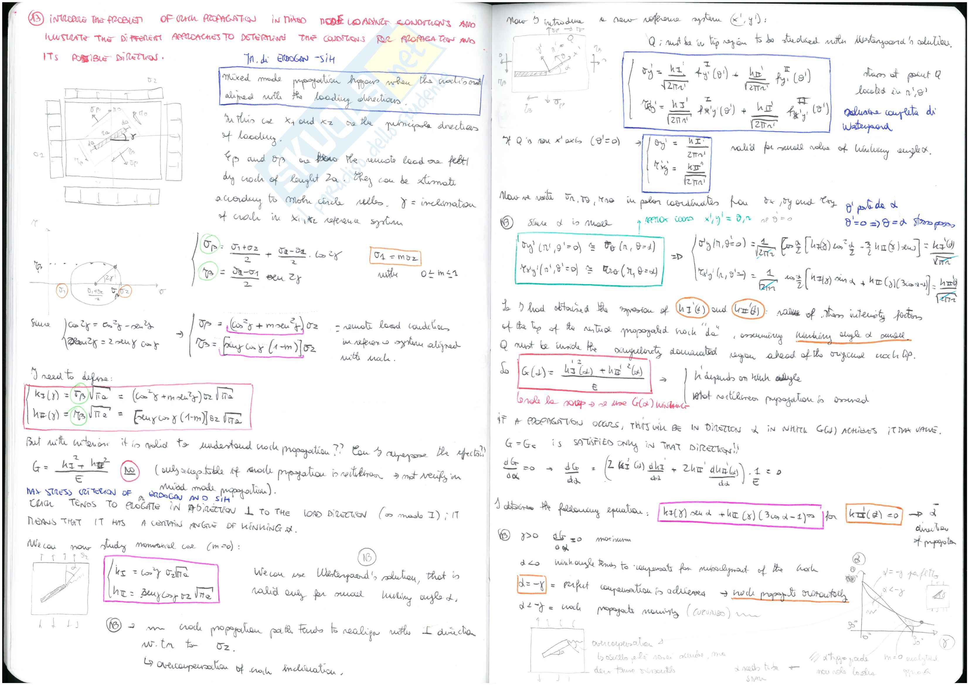 Meccanica della frattura - Domande Pag. 16