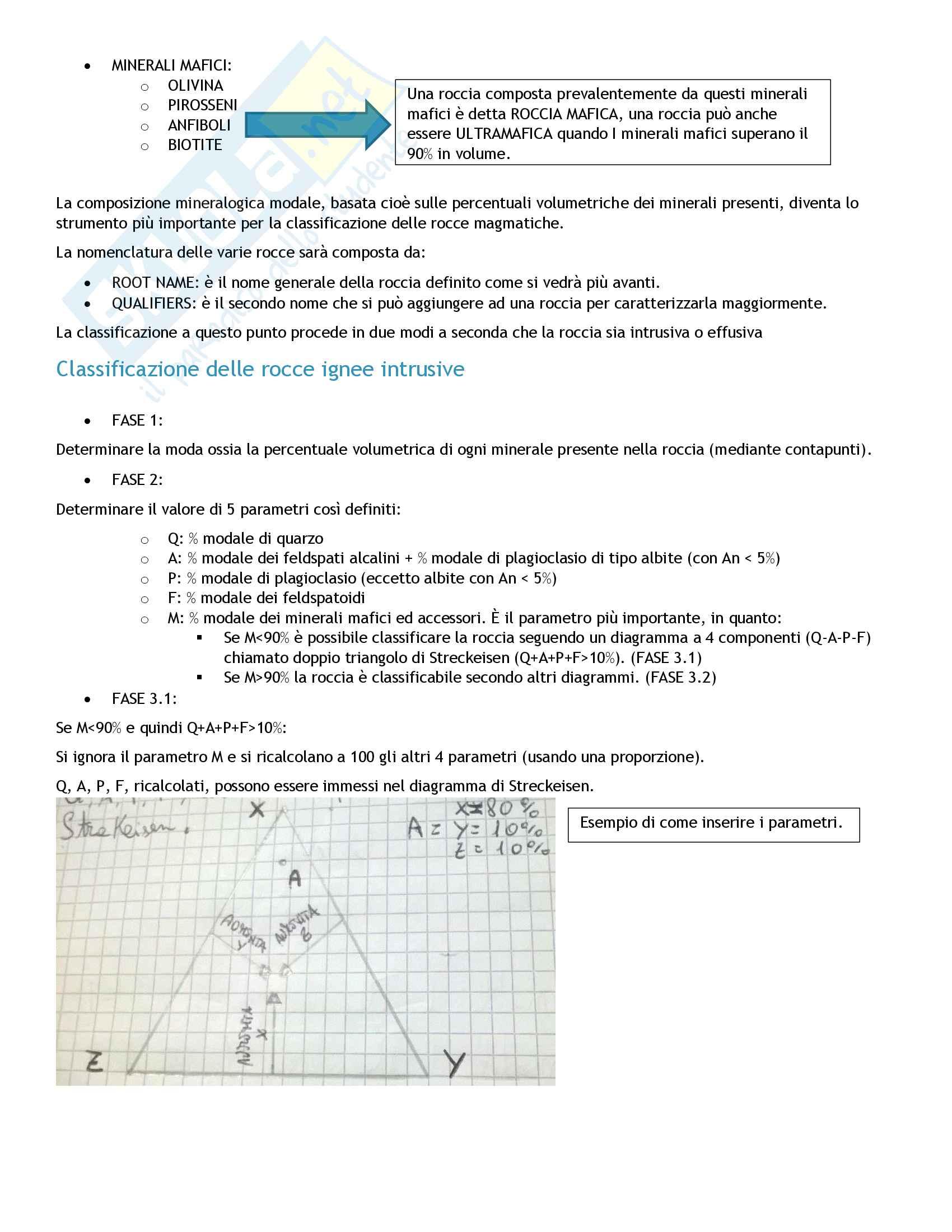 Petrografia del magmatico e metamorfico con accenni di petrologia - Esame petrografia Pag. 16