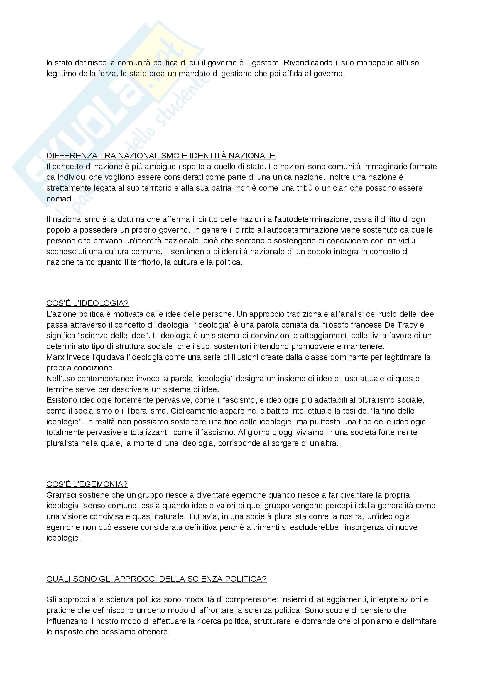 Domande & Risposte - Scienza Politica - Almagisti Pag. 2