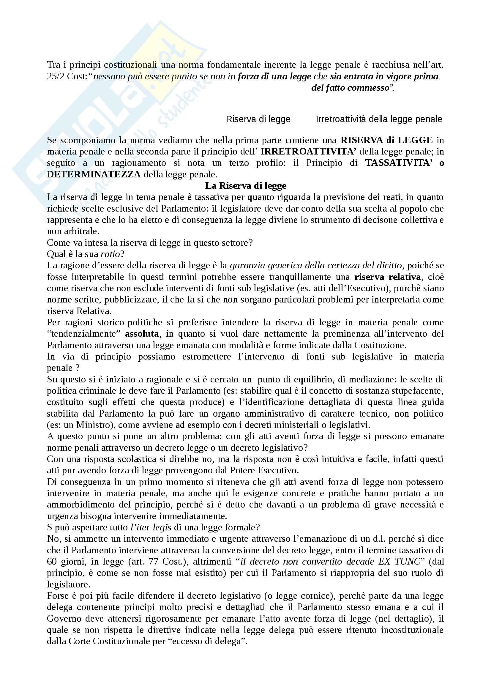 Diritto Penale I parte generale Pag. 2