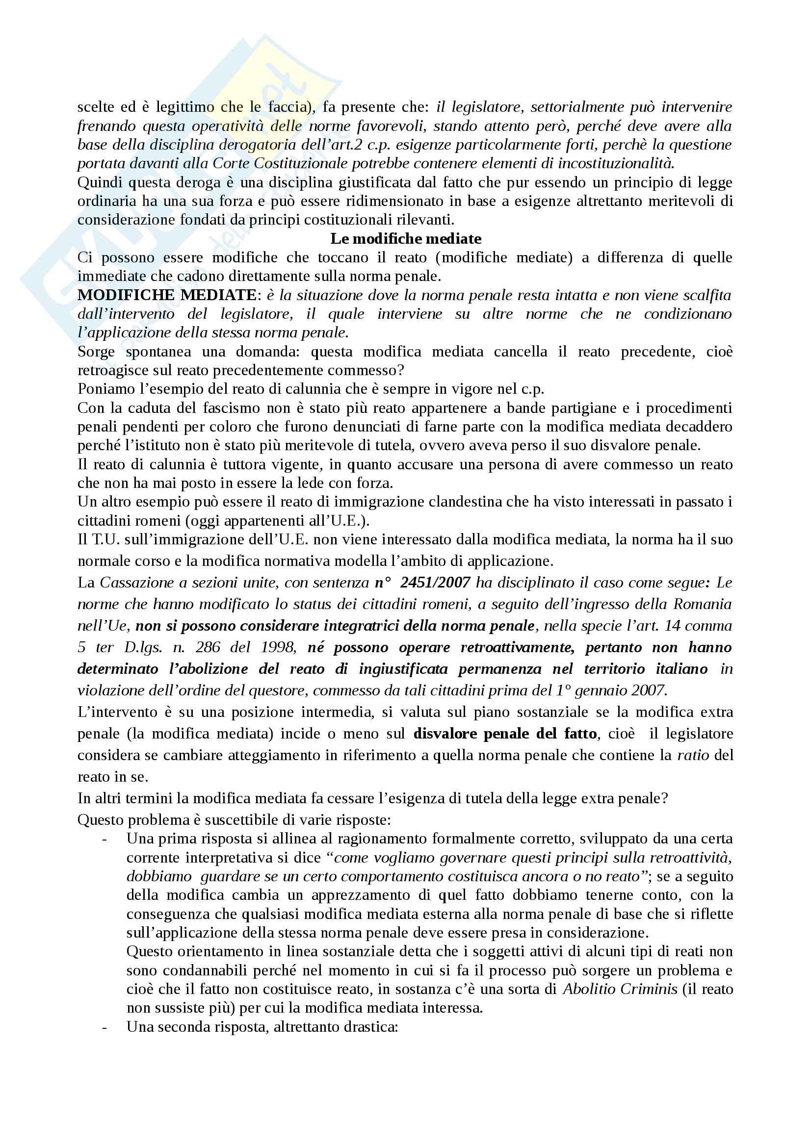 Diritto Penale I parte generale Pag. 6